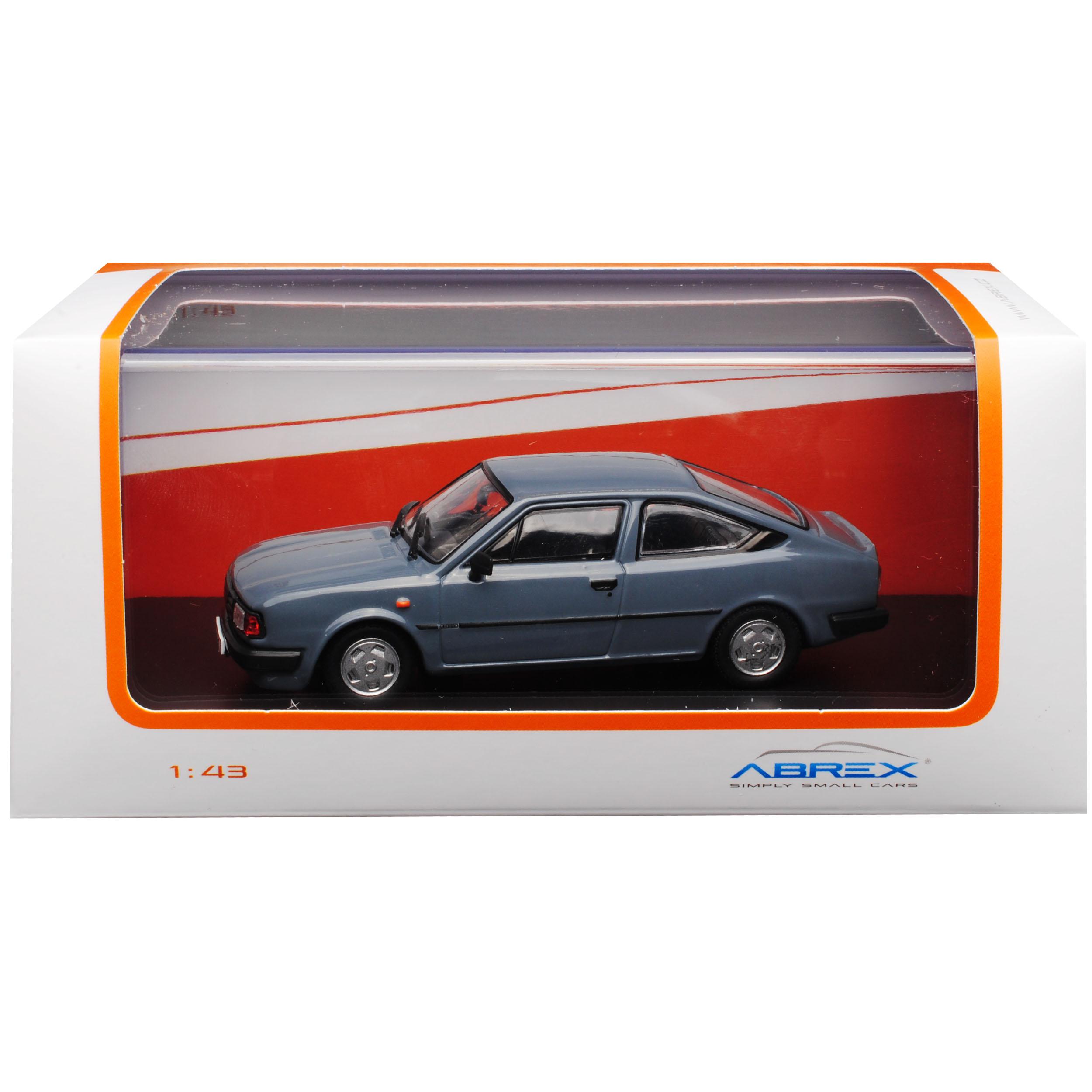 Skoda Rapid 136 Coupe Dunkel Grau Blau 1984-1990 720LR 1//43 Abrex Modell Auto ..