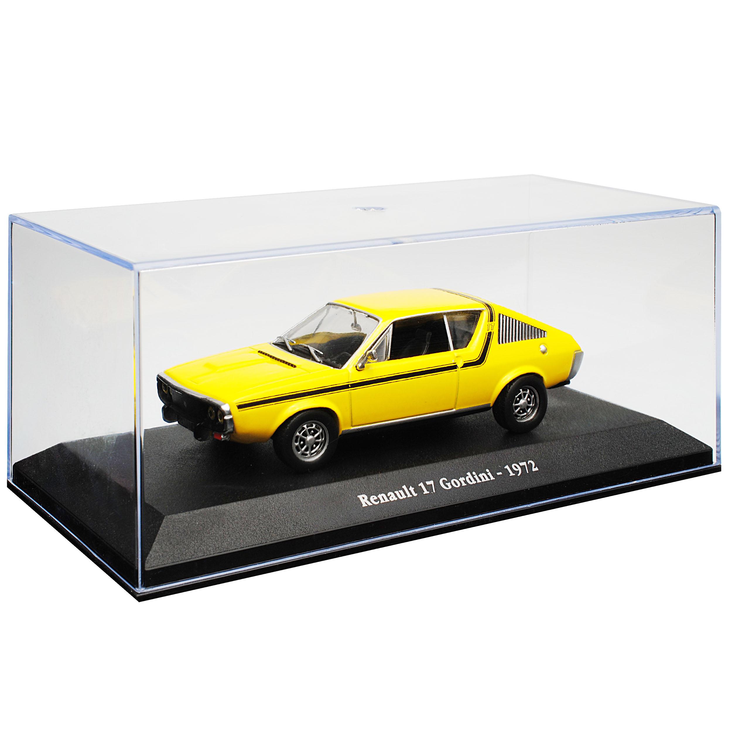 Renault 17 Gordini Coupe 3 puertas amarillo 1971-1979 1//43 atlas modelo coche con Oda...