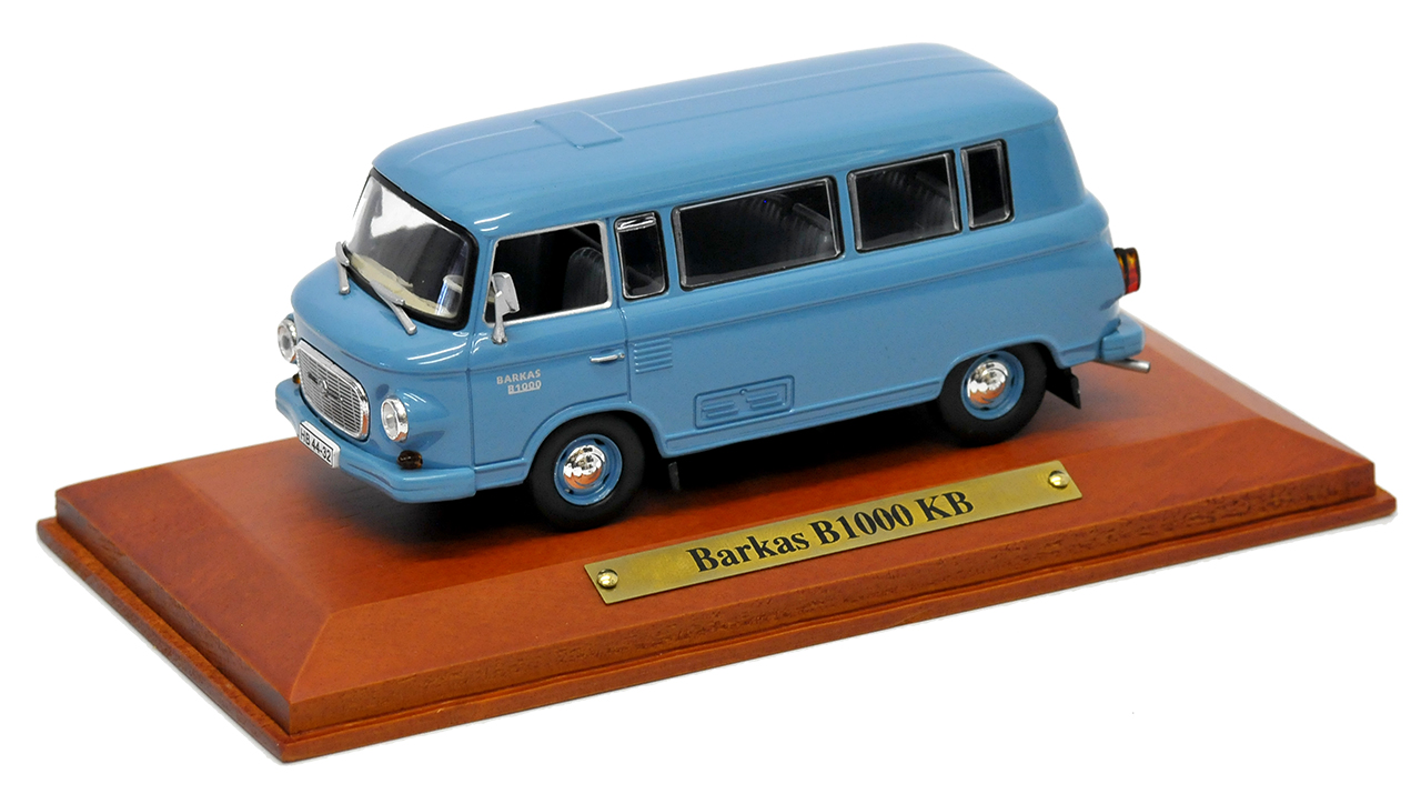 Barkas B1000 KB minibus furgonetas Atlas azul 1961-1990 este alemán 1:43 coches de modelo...
