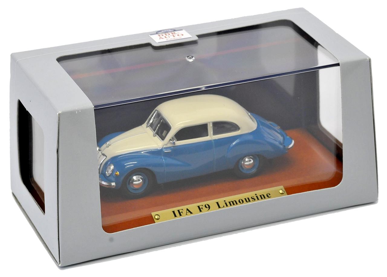 IFA f9 Limousine Blu Cream 1950-1956 DDR 1//43 Atlas modello auto con o senza...