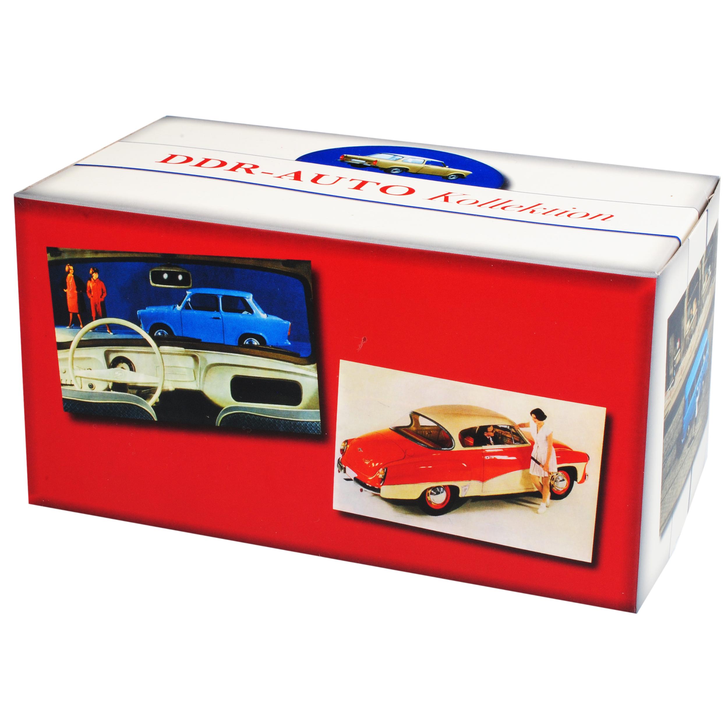 IFA f9 LIMOUSINE GRIGIO CHIARO 1950-1956 DDR 1//43 Atlas modello auto con o senza...
