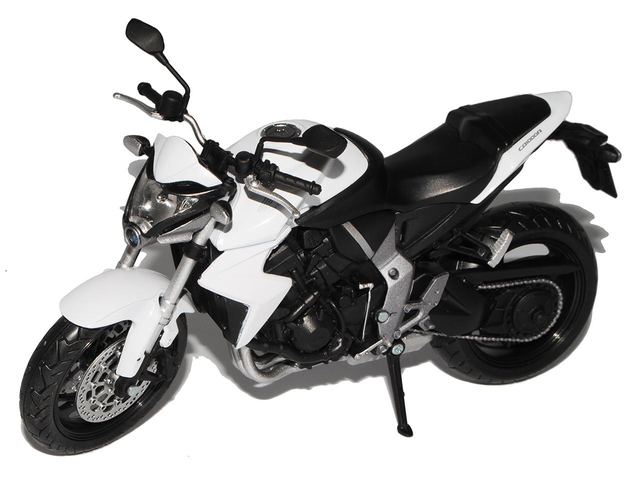 Honda cb1000r Weiss negro a partir de 2008 1//12 Automaxx modelo moto con o sin...