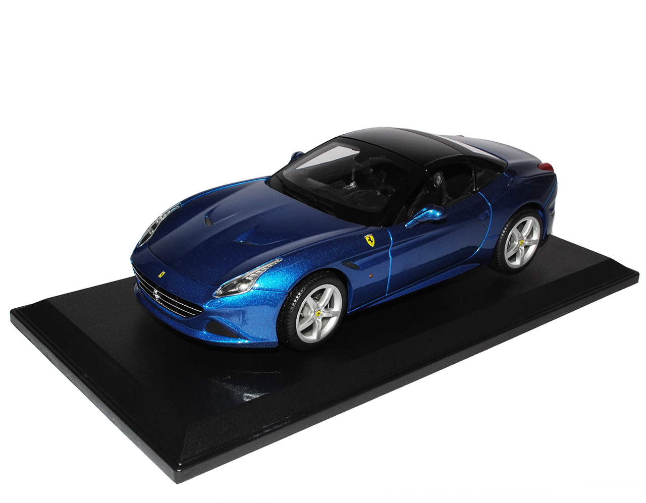 Ferrari California T Coupe Geschlossen Blau Ab 2015 1//18 Bburago Modell Auto m..
