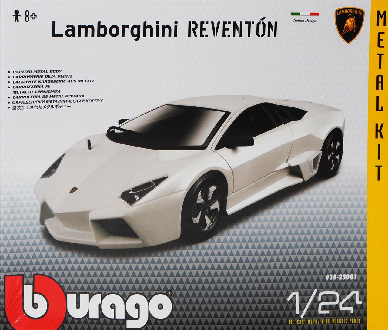 LAMBORGHINI REVENTON COUPE BIANCO KIT KIT 1//24 Bburago Auto Modello o con...