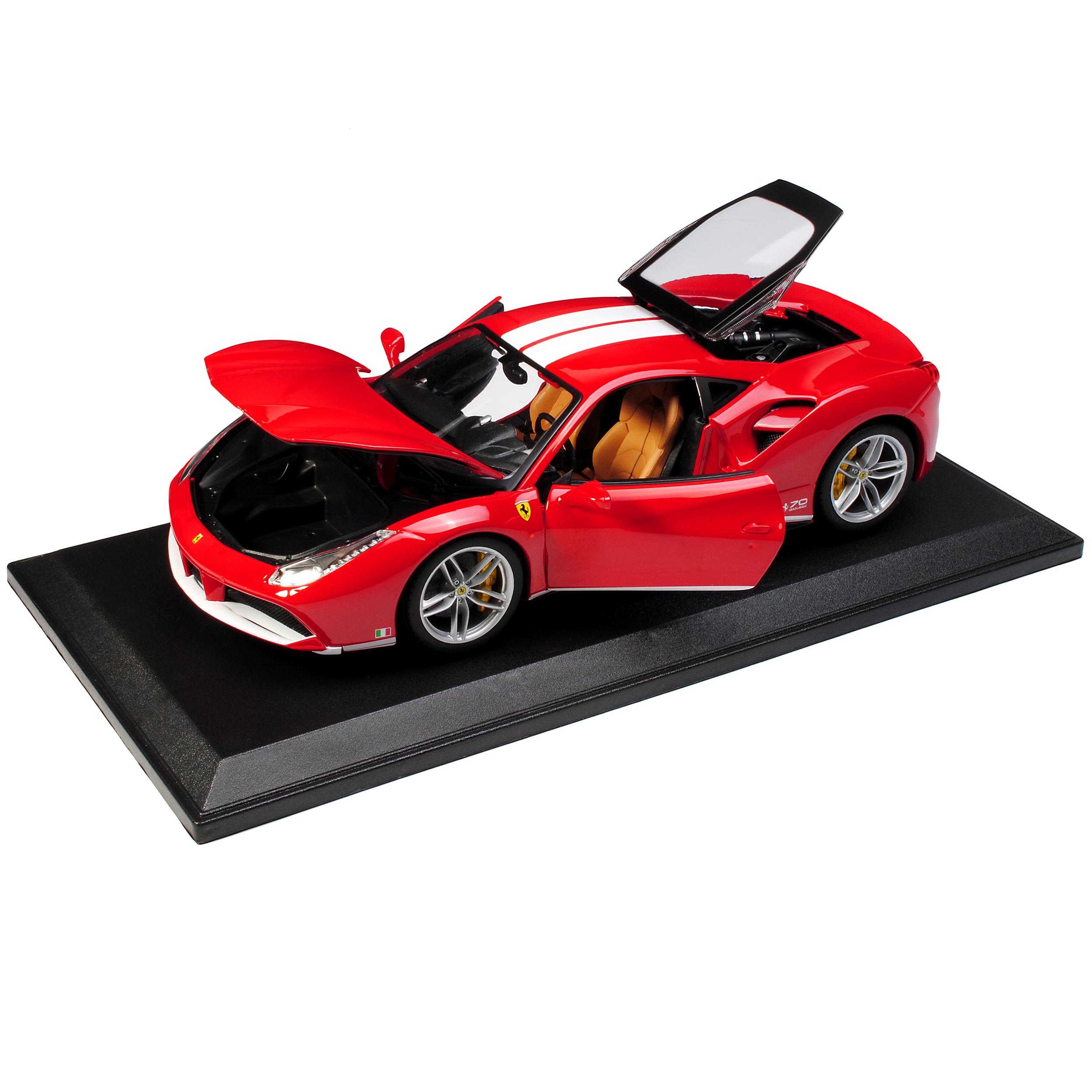 Ferrari 488 GTB Rot The Michael Schumacher limited Edition 70 Jahre Ferrari Ge..
