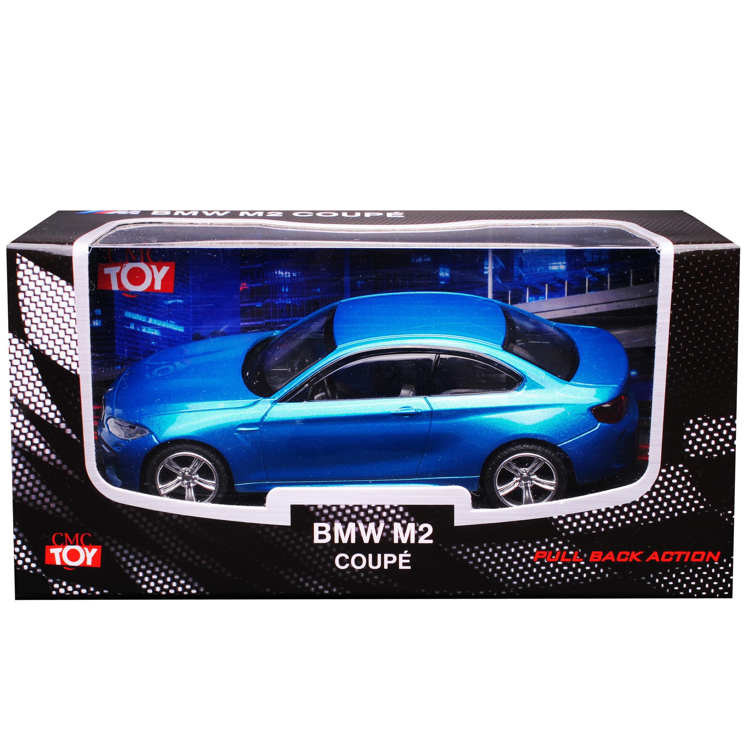 Bmw 2er f22 m2 f87 Coupe azul a partir de 2013 1//43 cmc Toy modelo coche con o sin I..