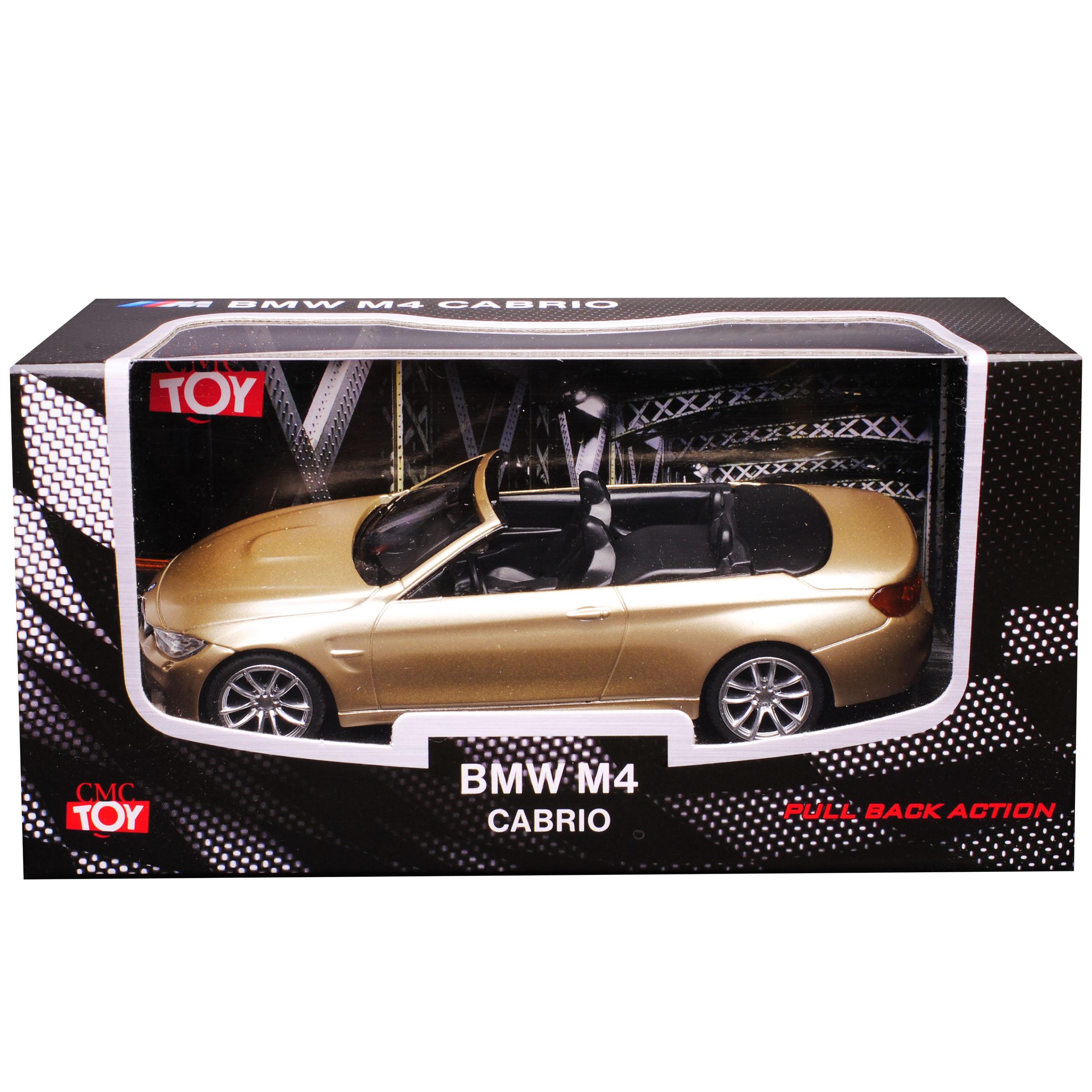 BMW 4er Cabrio m4 f83 beige oro a partire dal 2014 1//43 CMC TOY modello auto con o senza...