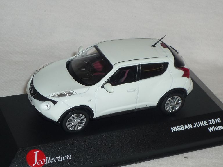 nissan juke 2010 weiss 1 43 j collection modell auto. Black Bedroom Furniture Sets. Home Design Ideas