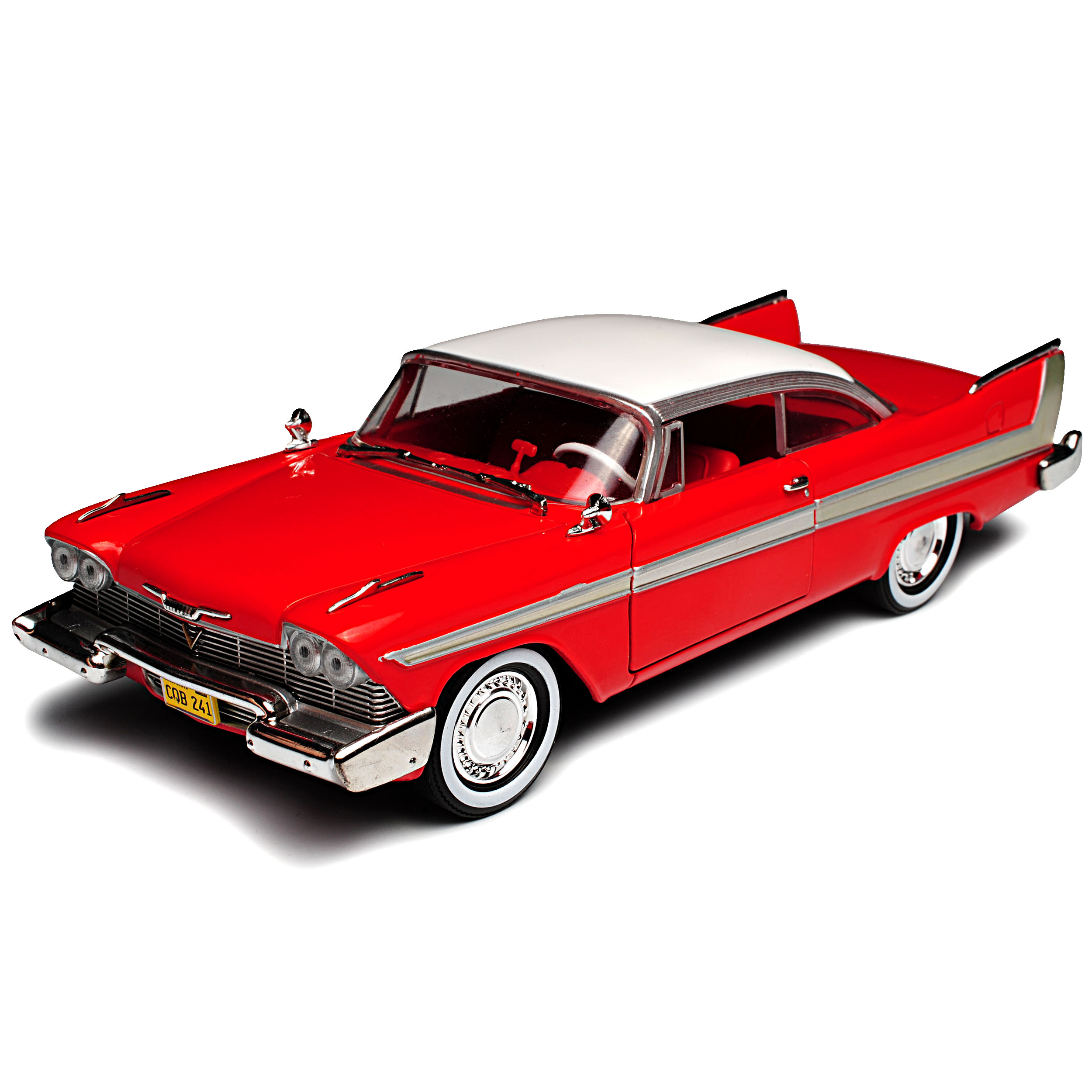 Plymouth Fury Coupe Rojo Christine Stephen King 1956-1958 1//24 GreenLight Model...