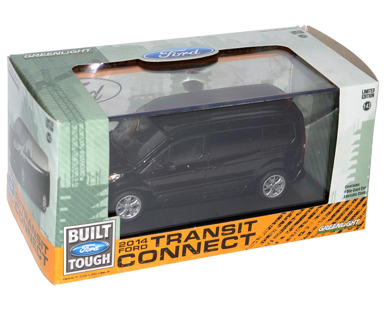 Ford Transit Connect furgonetas Kasten Schwarz de 2013 2ª generación 1//43 GRE...