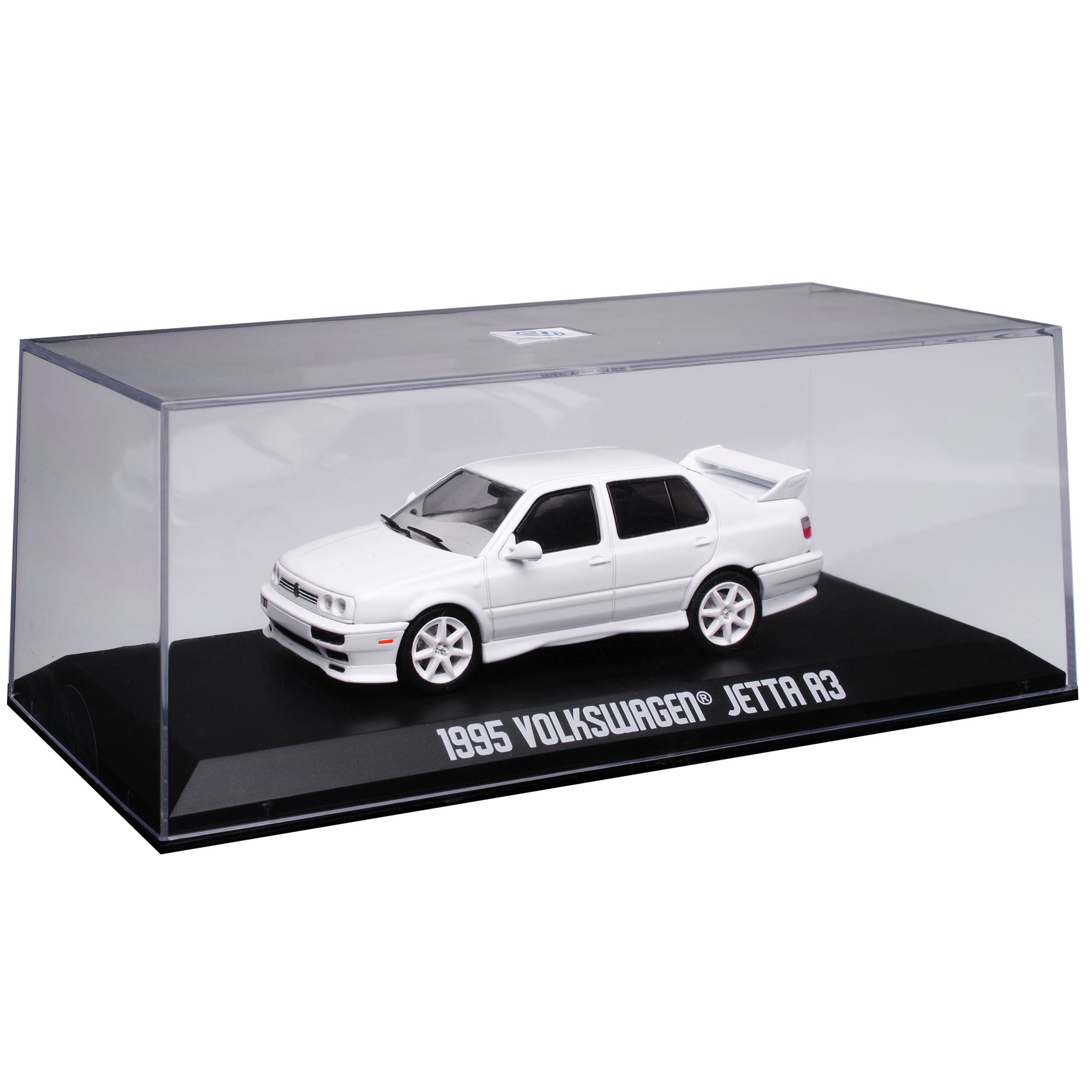 VW Volkswagen Jetta III Limousine Weiss 1992-1998 1//43 Greenlight Modell Auto ..