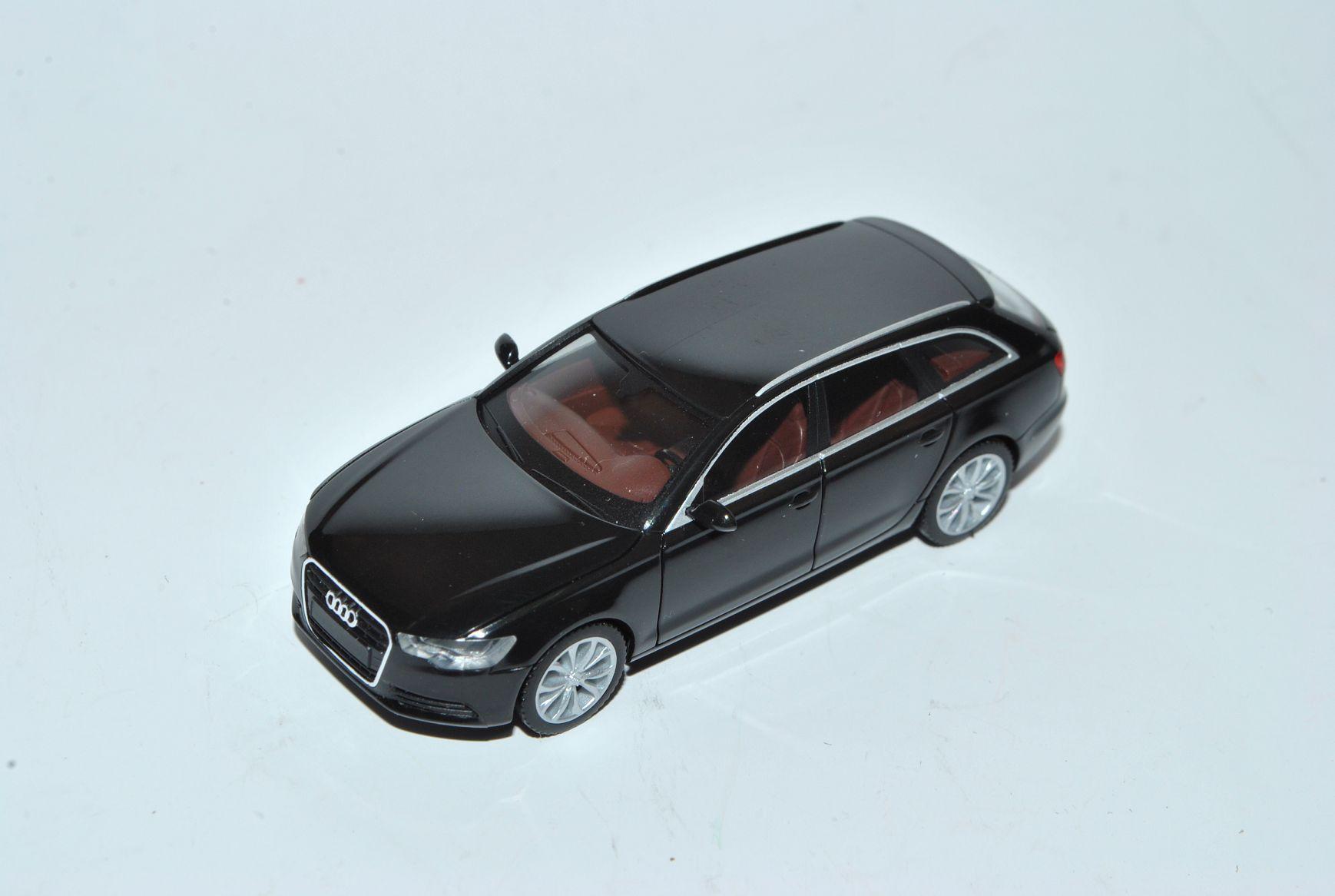 Audi A6 C7 Avant Kombi Schwarz Ab 2011 H0 1//87 Herpa Modell Auto mit oder ohne..