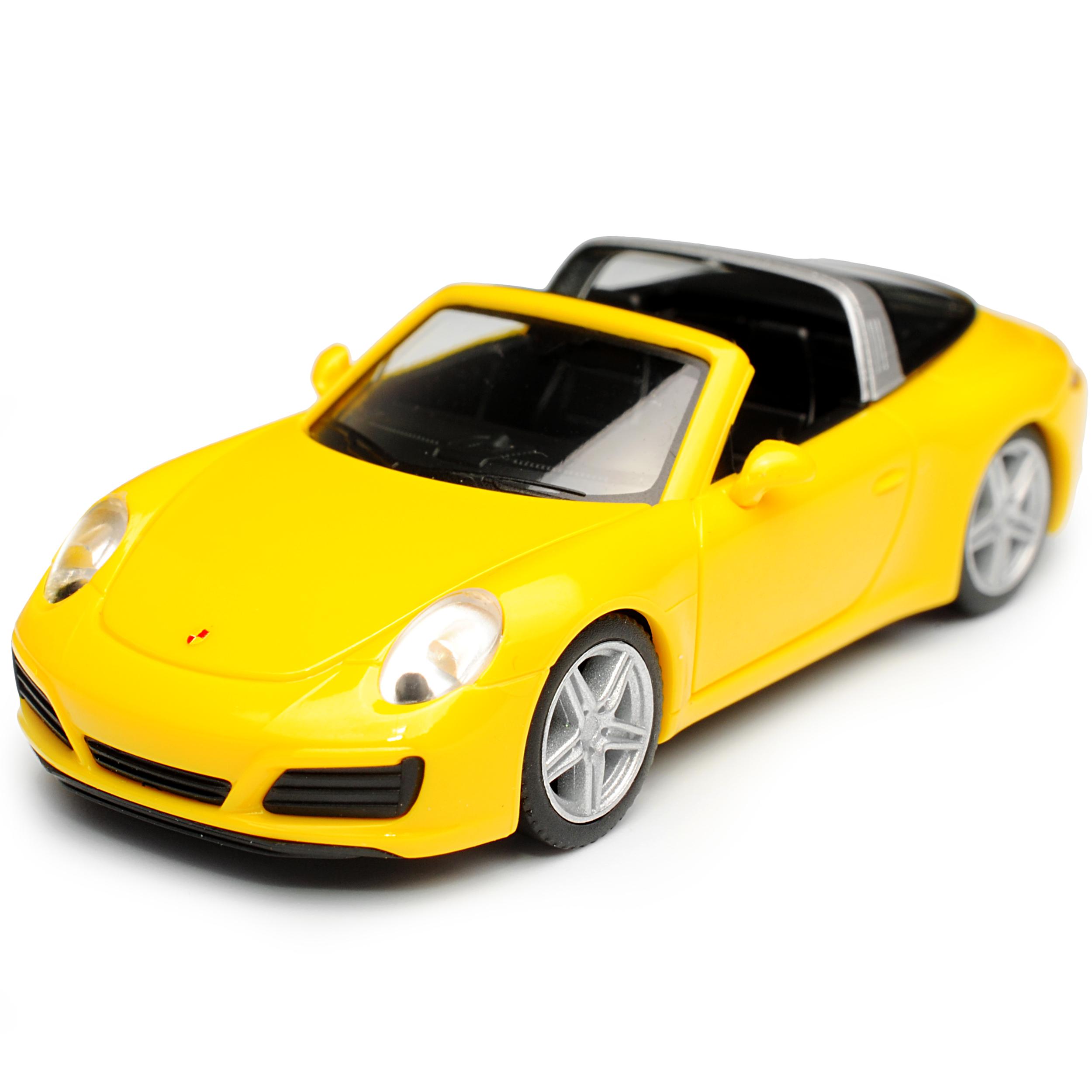 Porsche 911 991 Targa Cabrio Racing Gelb Modell Ab 2012 Ab Facelift 2015 H0 1//..
