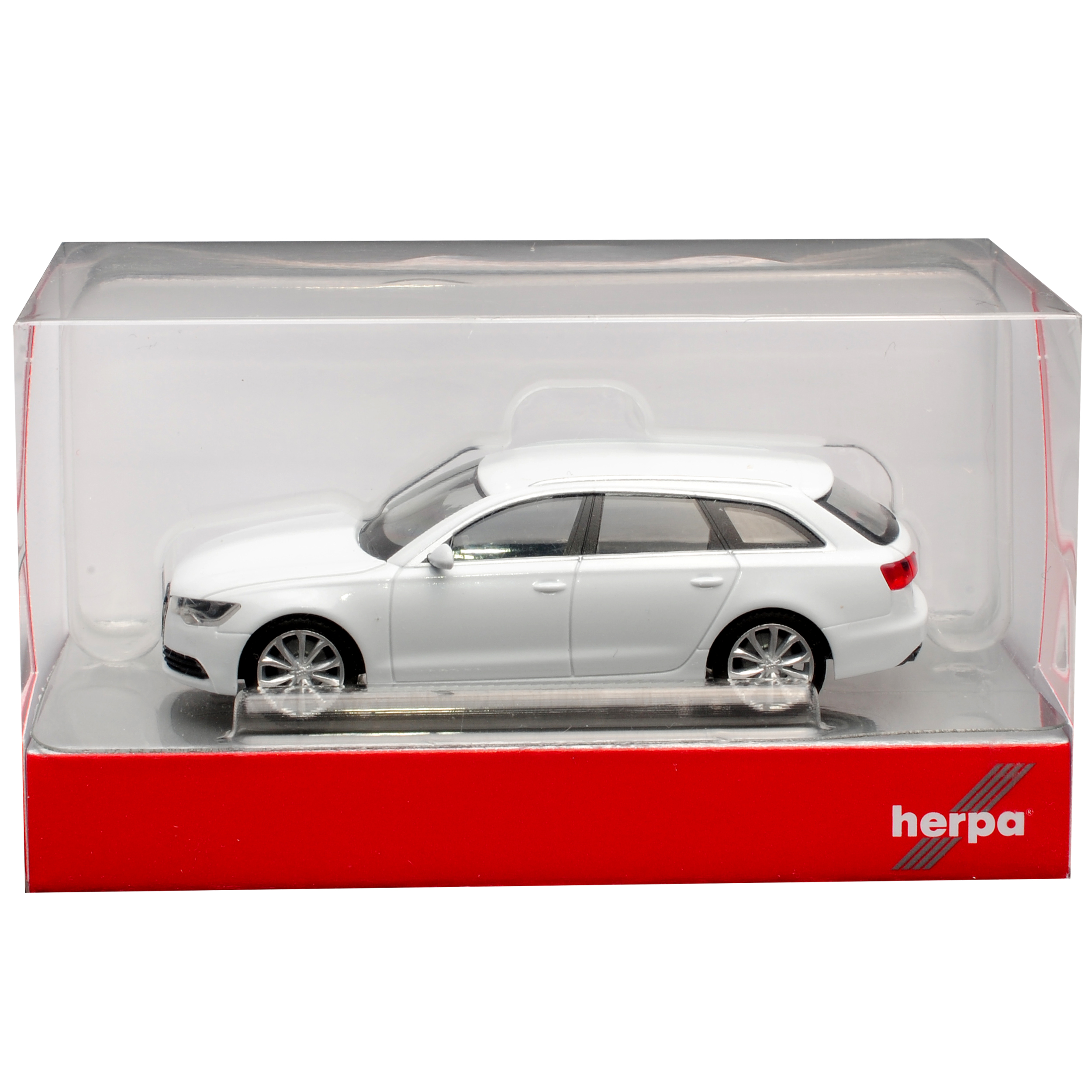Audi A6 C7 Avant Kombi Gletscher Weiss Metallic 2011-2018 H0 1//87 Herpa Modell..