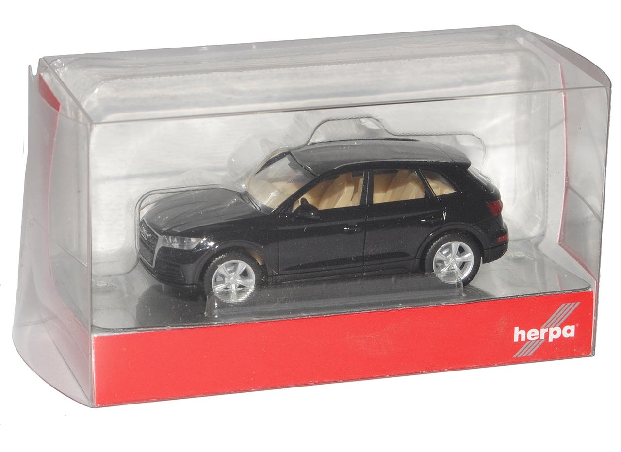 génération à partir de 2016 h0 1//87 Herpa Modèle Voiture Avec ode... Audi q5 II SUV Noir 2