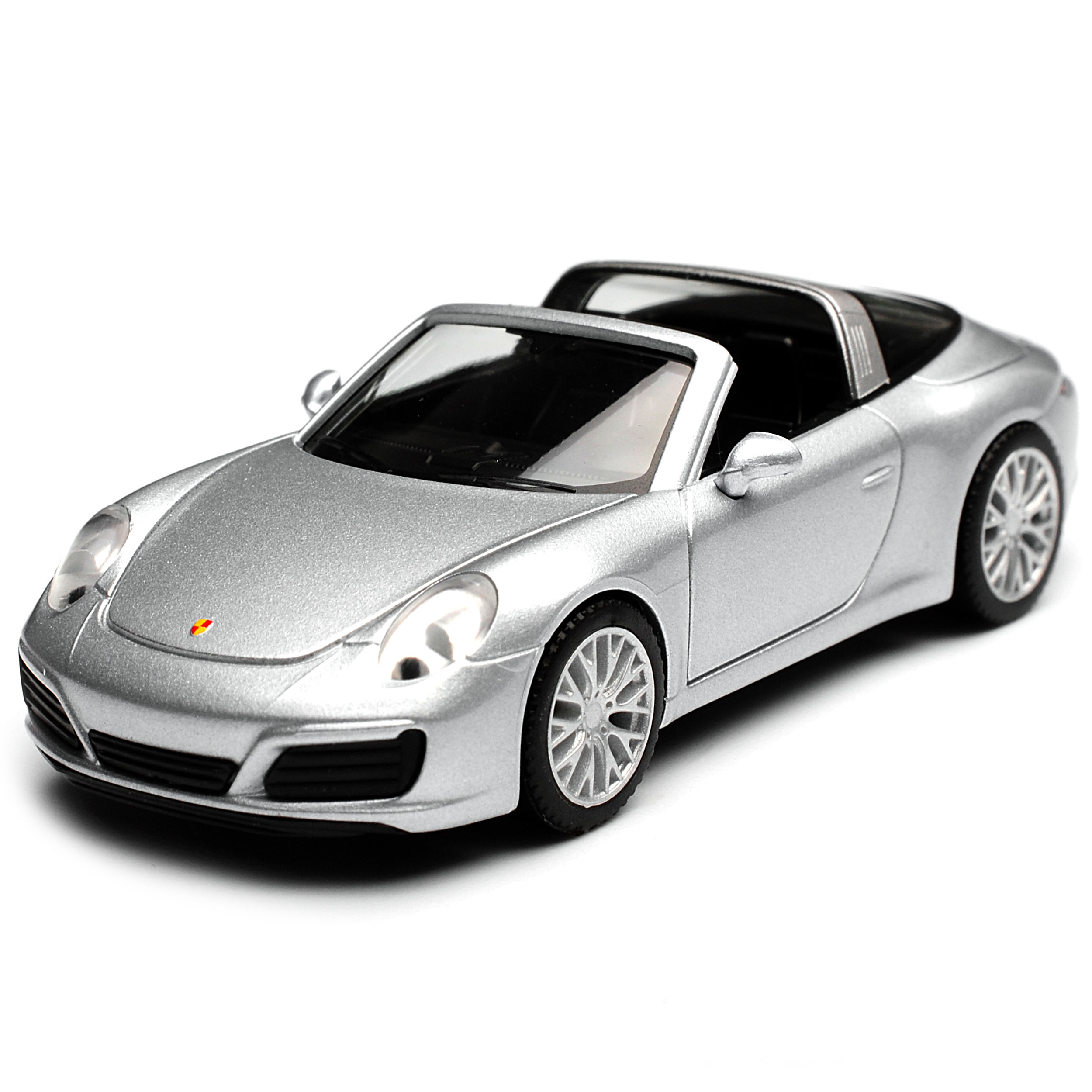 Porsche 911 991 Targa Cabrio Rhodium Silber Metallic Modell Ab 2012 Ab Facelif..
