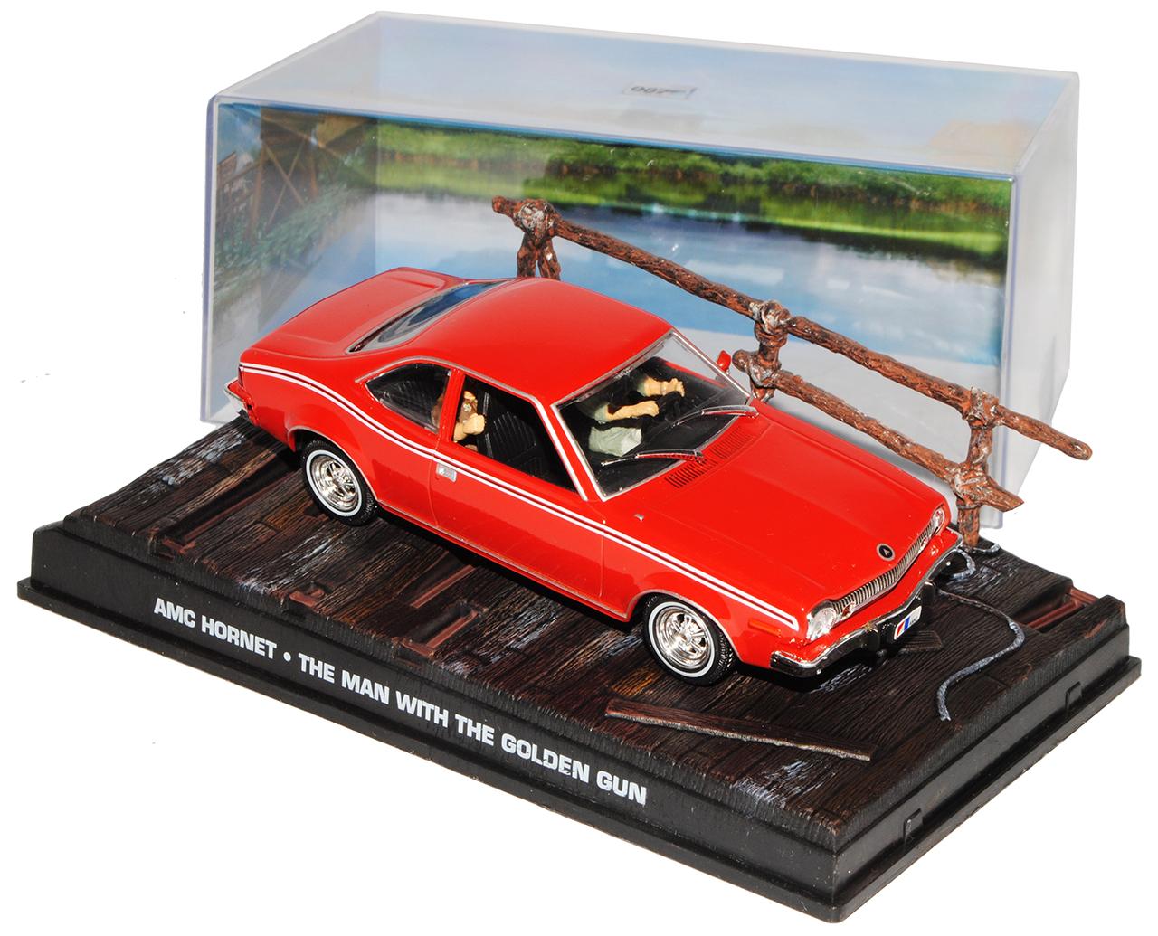 AMC Hornet Der Mann mit dem goldenen Colt James Bond 007 1//43 Ixo Modell Auto ..