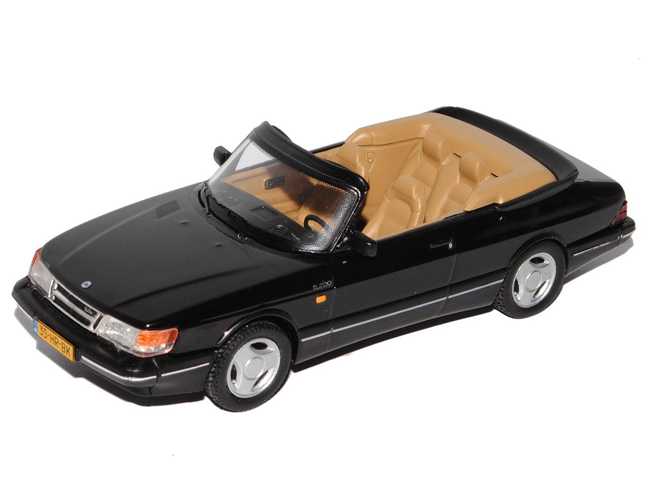 Saab 900 Cabriolet Schwarz 1 Generation 1978-1994 limitiert Triple 9 1 von 60..