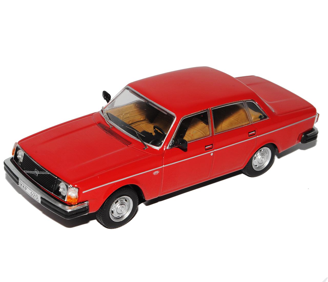 Volvo 244 Limousine Rot 1974-1993 limitiert 1 von 1008 Triple 9 1//43 Ixo Model..