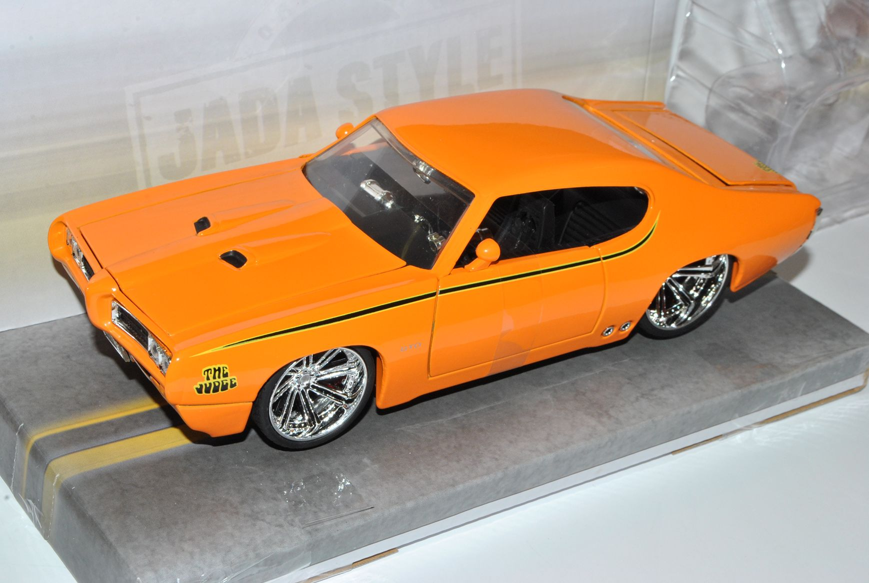 Pontiac GTO Judge Orange 1969 tuning 1//24 jada modelo coche con o sin indiv...