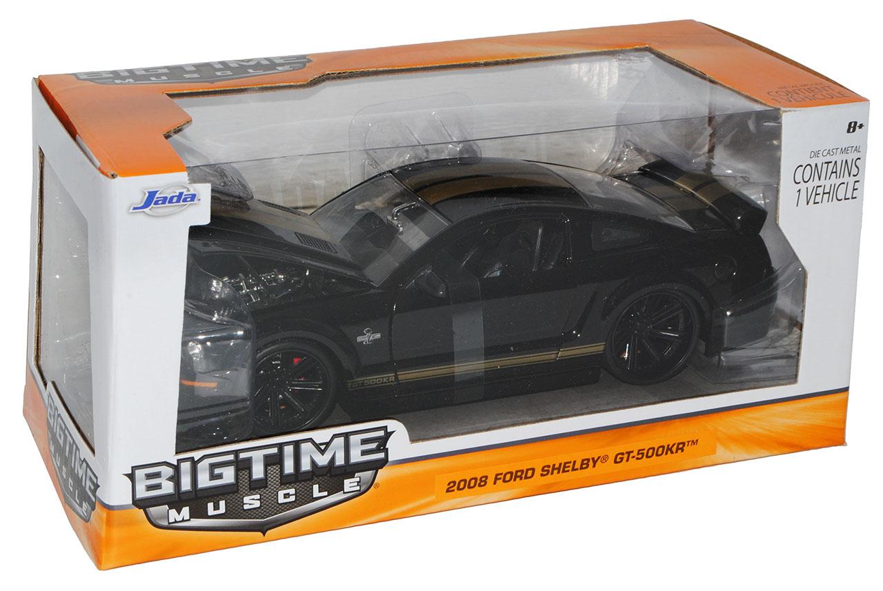 Generation Shelby GT-500KR Schwarz mit Goldenen Streifen 200.. Ford Mustang V 1