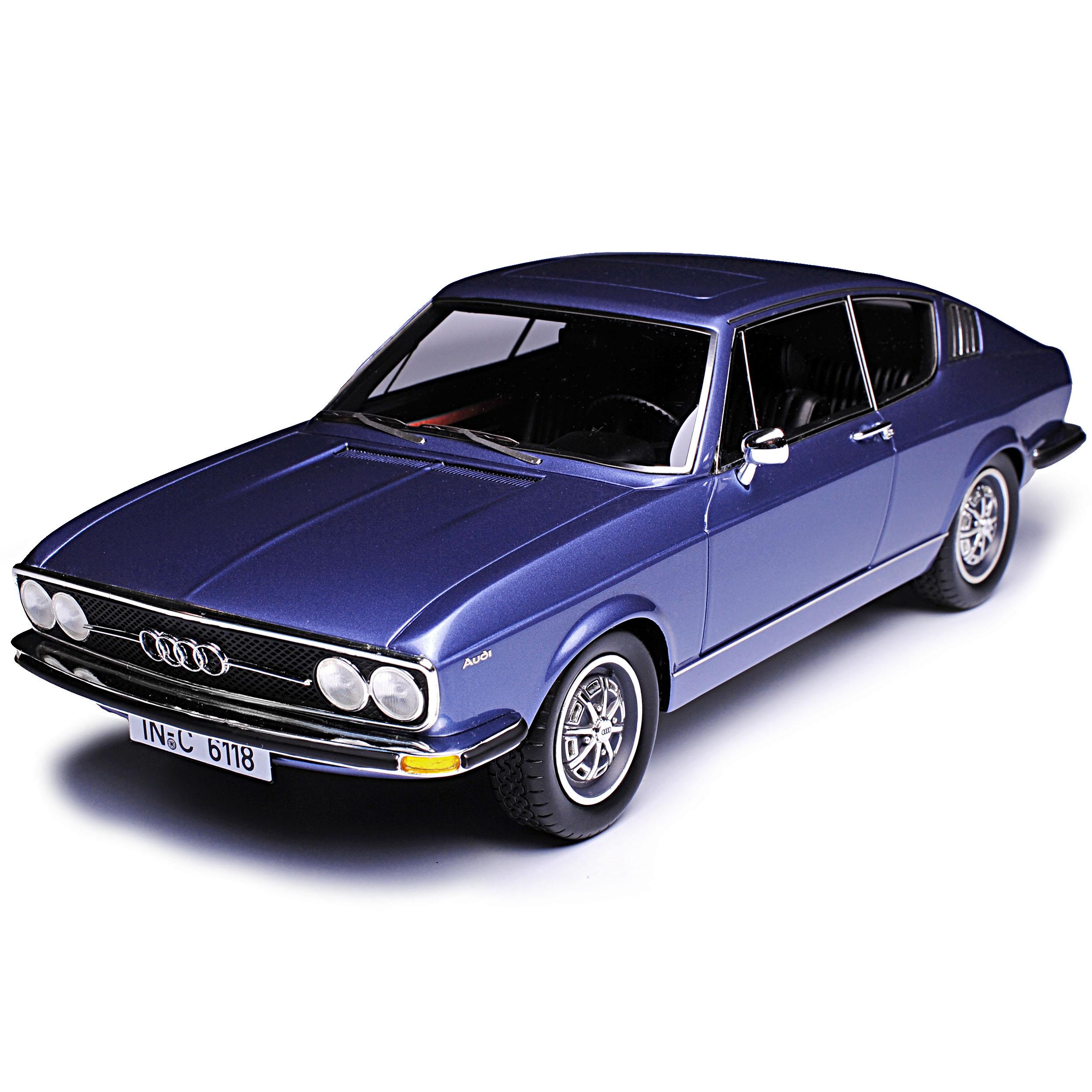 AUDI 100 S c1 Coupe Blu 1968-1976 stata limitata 500 pezzi 1//18 KK-scale modello au...