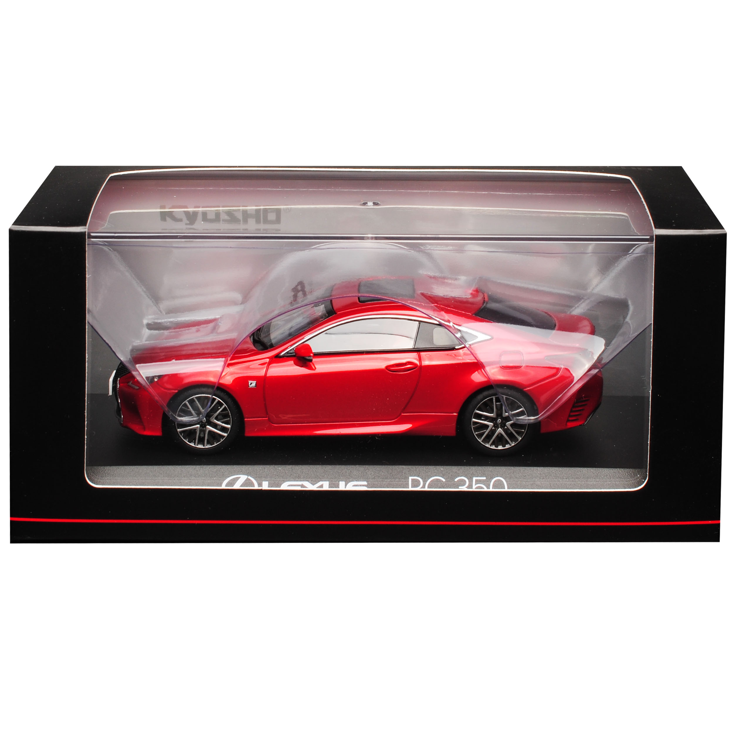 Lexus RC 350 F-Sport Coupe Radiant Rot CL Ab 2015 1//43 Kyosho Modell Auto mit ..