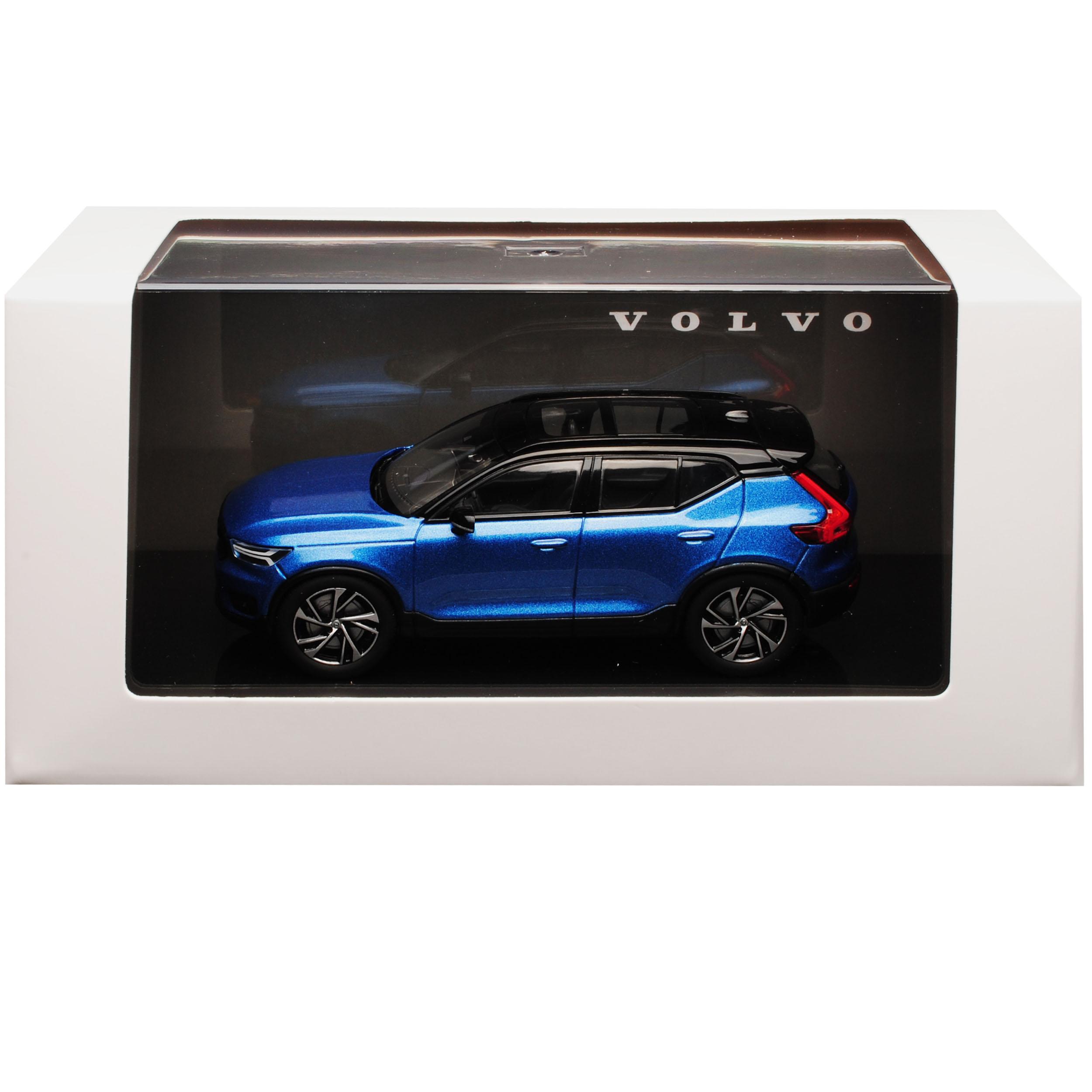 génération à partir de 2017 1//43 KYOSHO modèle voiture avec... Volvo xc40 SUV éclatés Bleu 1