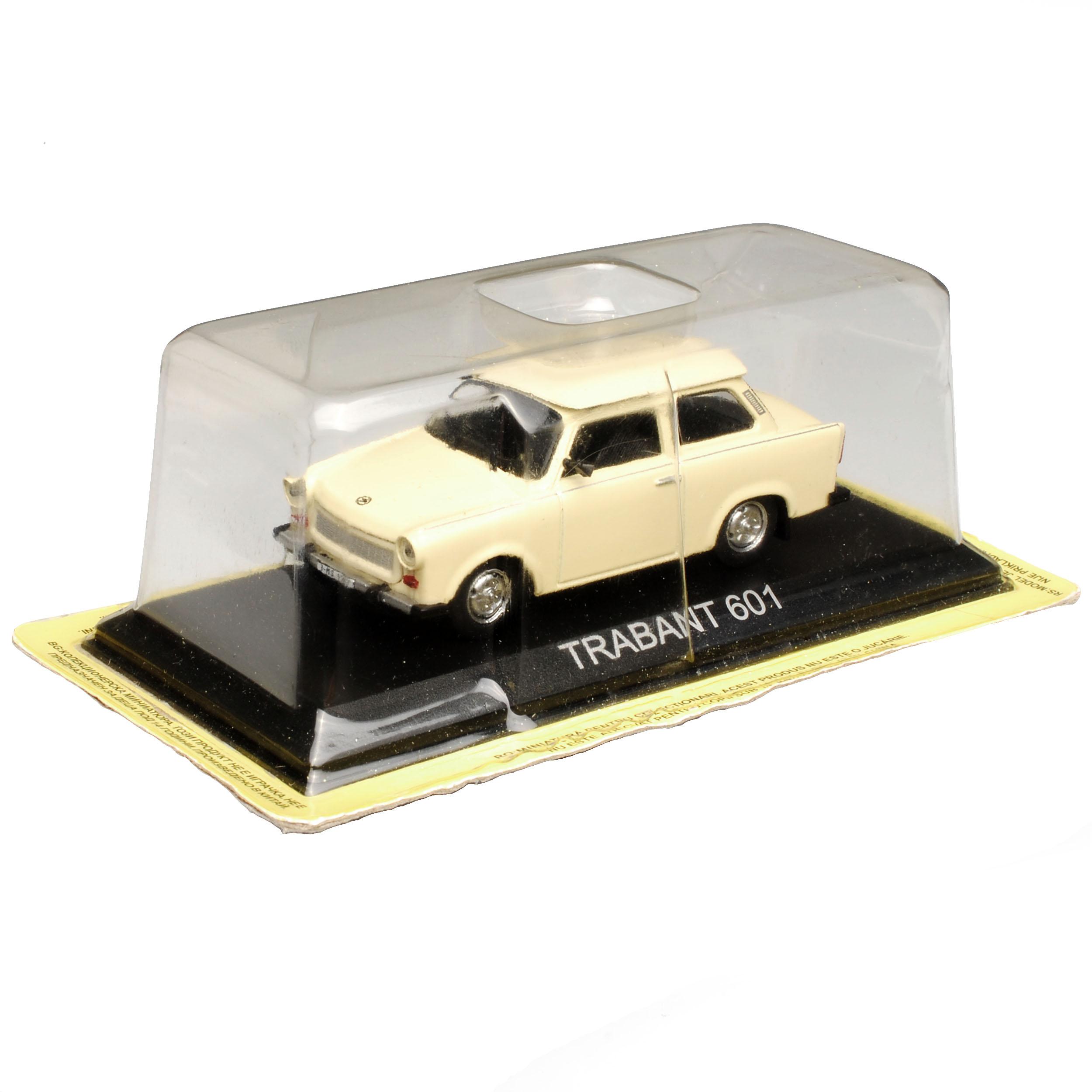 Trabant 601 BERLINA Beige 1964-1990 con socket 1//43 modellcarsonline modello...