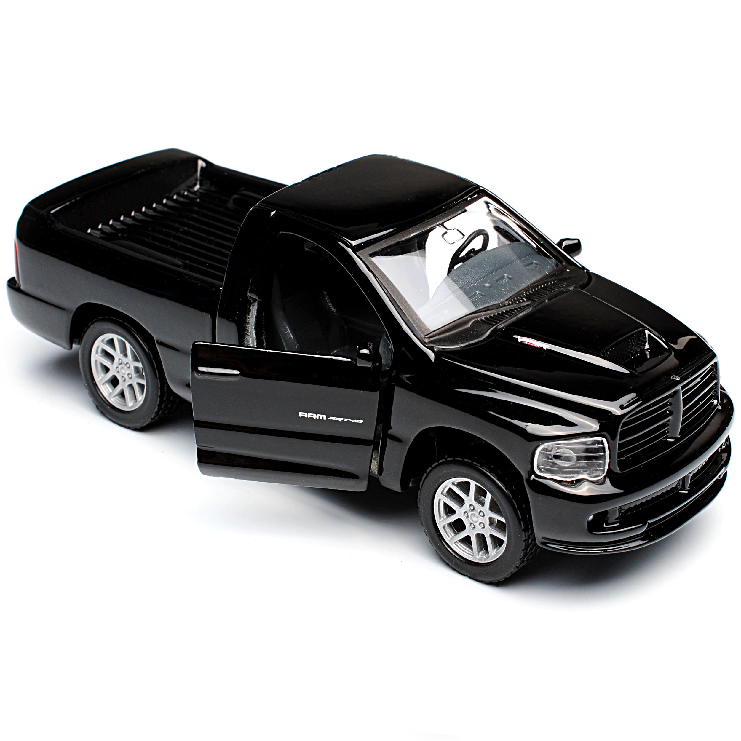 Generati 2002-2009 ca 1//43 1//36-1//46 Mais.. Dodge Ram SRT 10 Pick Up Schwarz 3