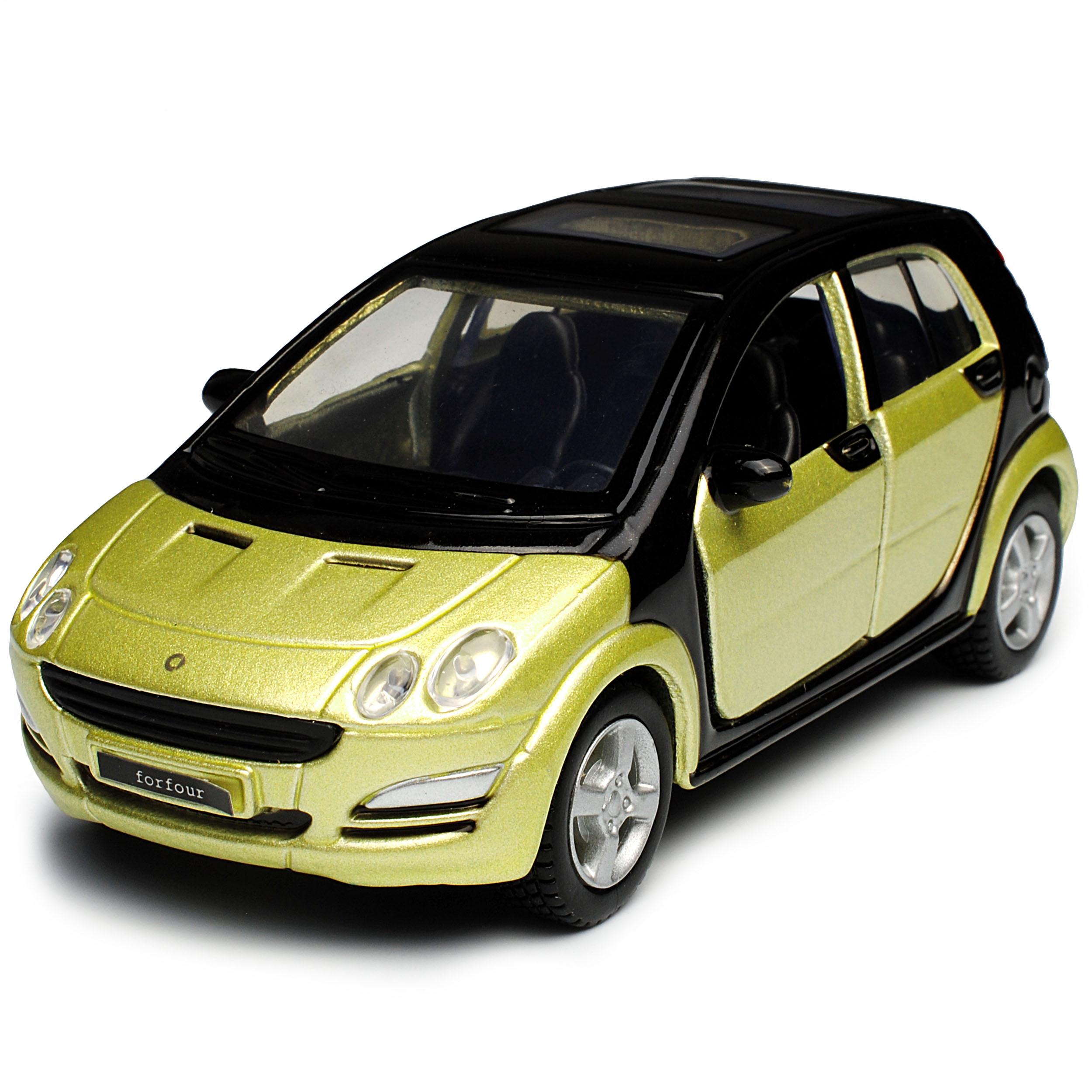 génération 2004-2006 avec... Smart Forfour w454 4 porte Vert avec toit noir 1