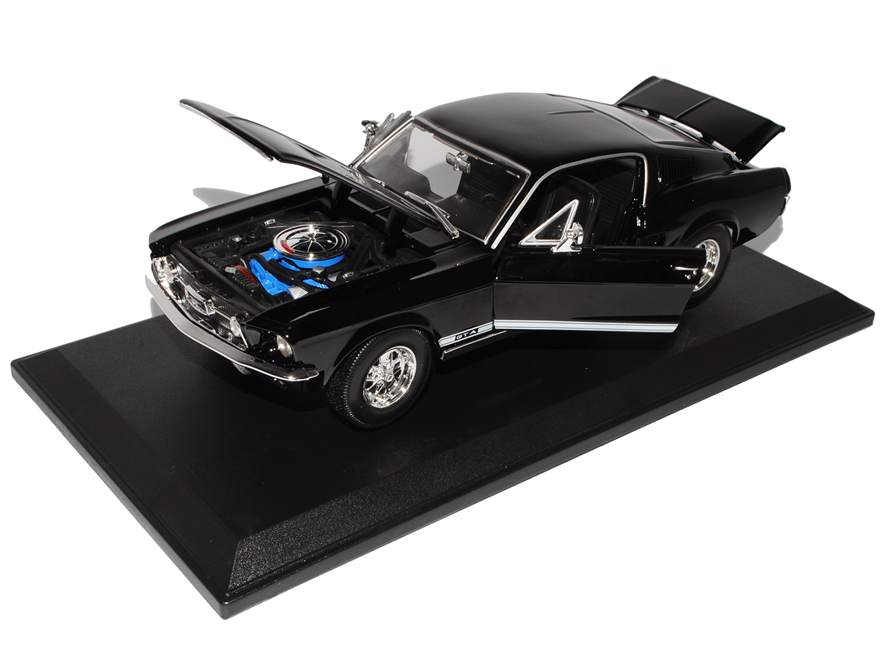 Generation GTA Fastback Coupe Schwarz 1967 1//18 Maisto Model.. Ford Mustang I 2