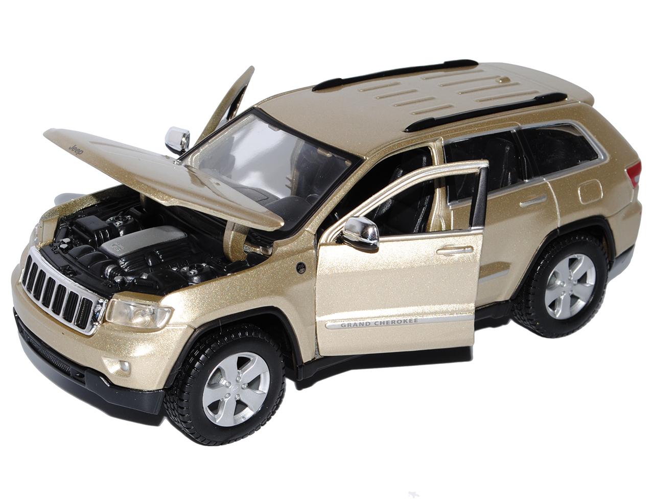 Jeep Grand Cherokee Laredo Gold Beige WK Ab 2010 1//24 Maisto Modell Auto mit o..