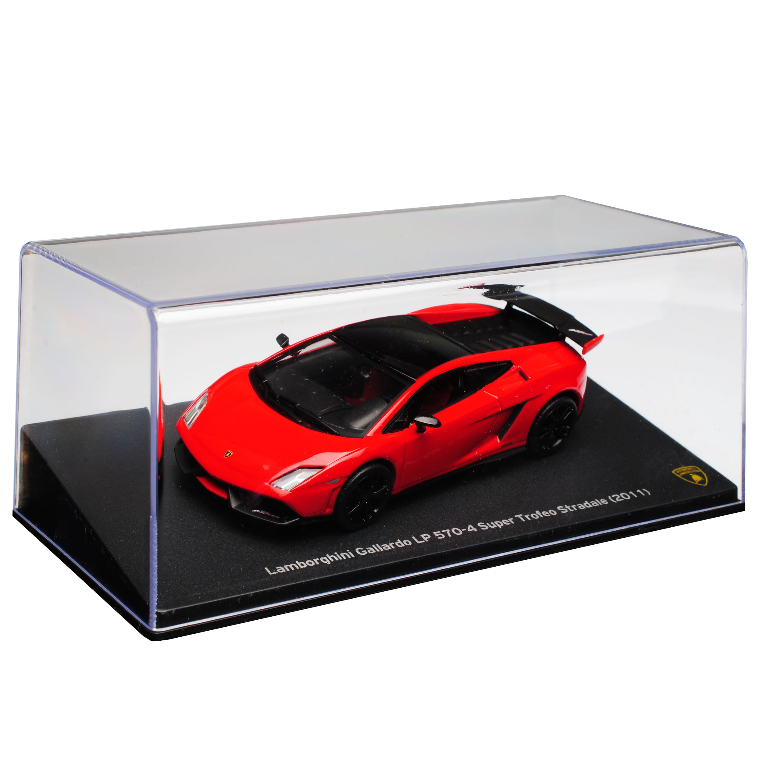 Lamborghini Gallardo LP 570-4 Super Trofeo Stradale Coupe Rot 2003-2013 1//43 A..