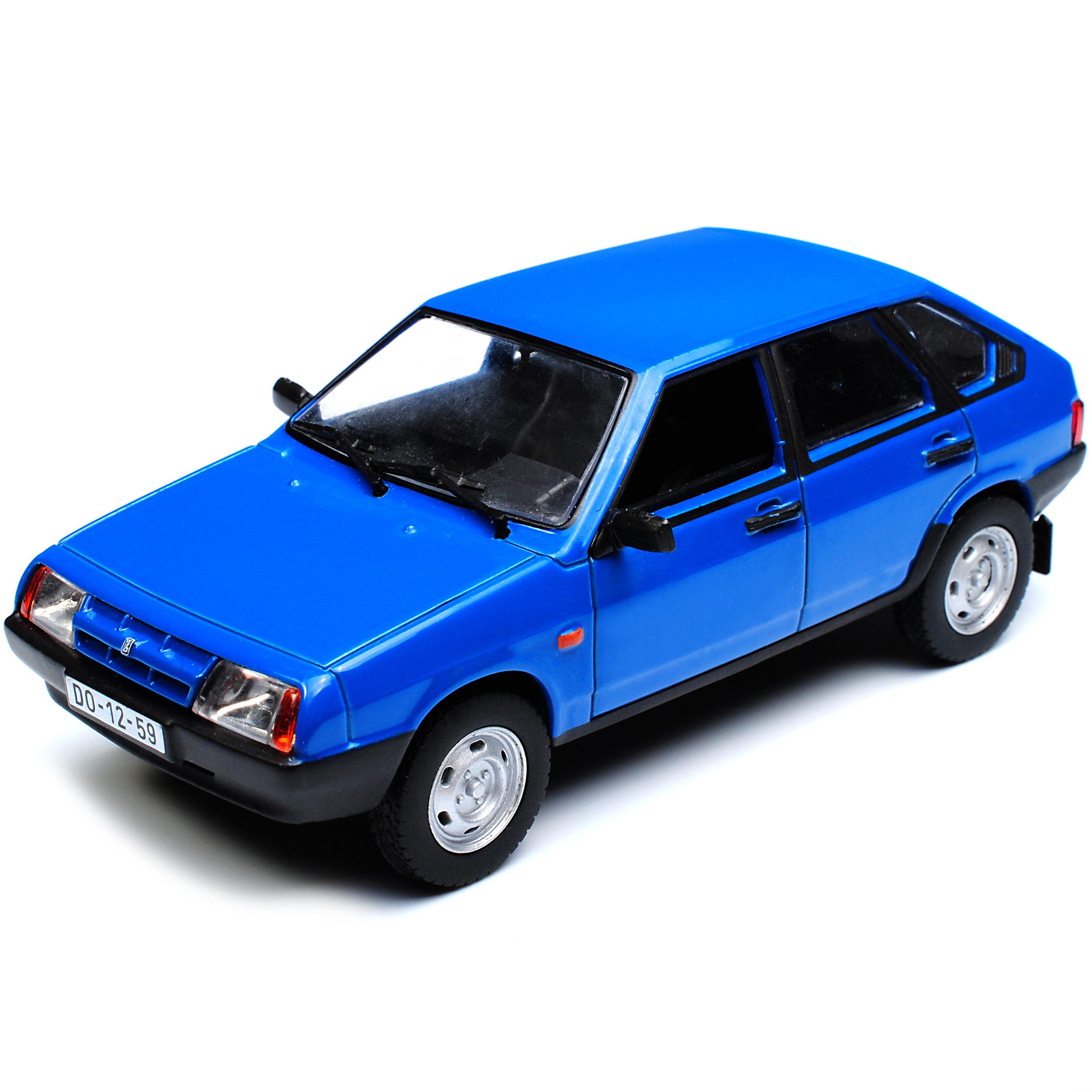 Lada Vaz Samara 2109 BLU 5 porte 1986-2004 1//43 modellcarsonline modello auto...