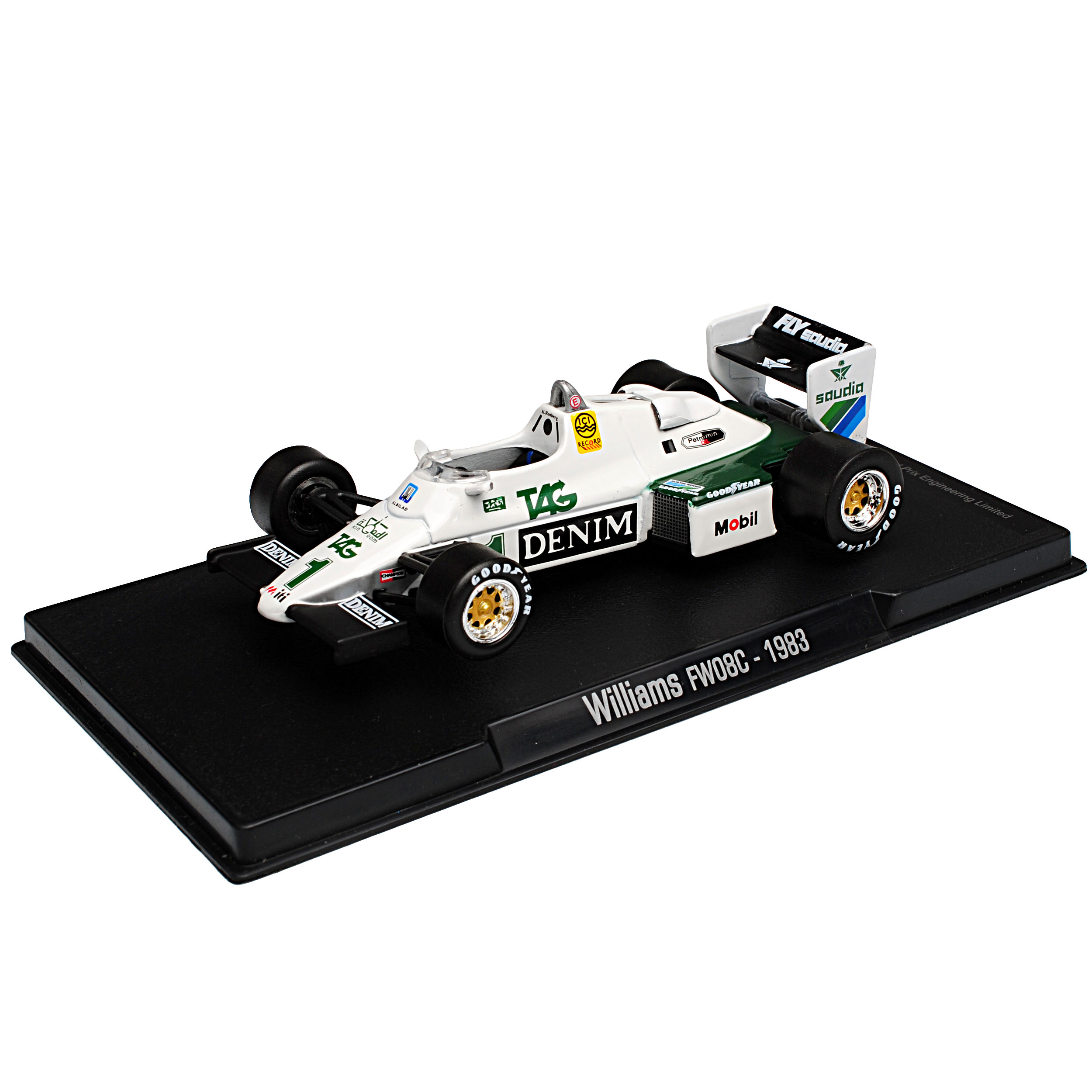Williams FW08C Keke Rosberg 1983 Formel 1 1//43 Modellcarsonline Modell Auto mi..