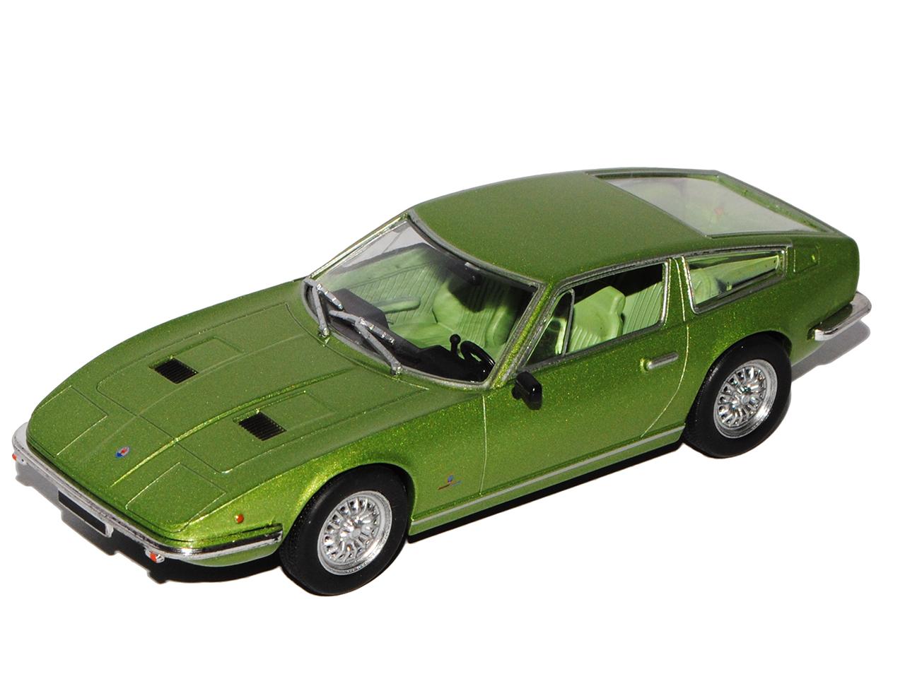 MASERATI INDY COUPE VERDE 1969-1975 1//43 modellcarsonline modello auto o con...
