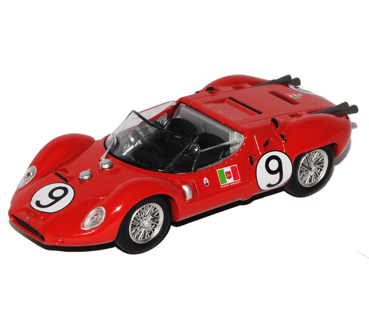 Maserati Tipo 24h Le Mans 1961 Vaccarella Scarfiotti 1//43 Modellcarsonline Mod..