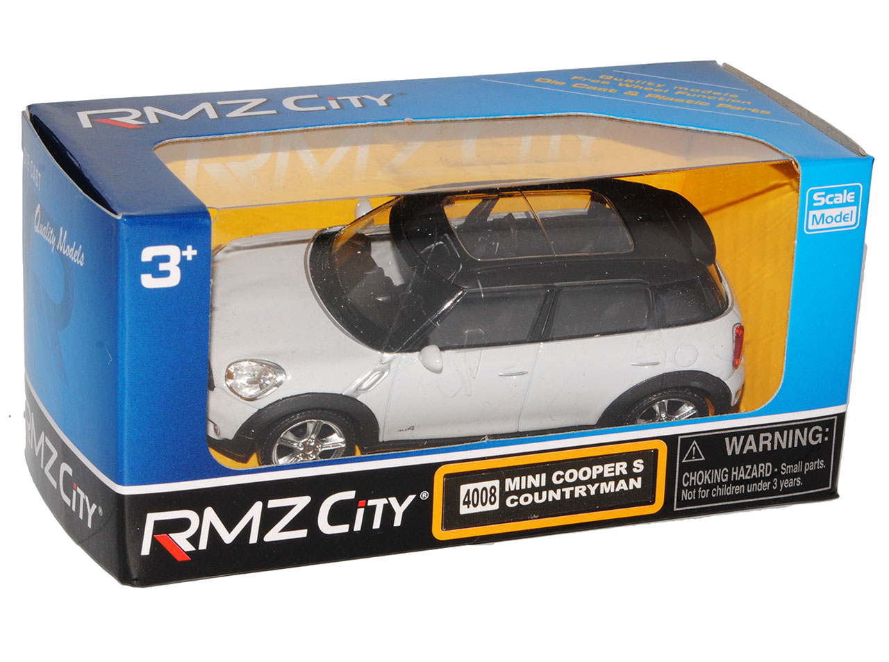 Mini Cooper Countryman SUV Weiss Grau Ab 2010 1//43 Modellcarsonline Sonderange..