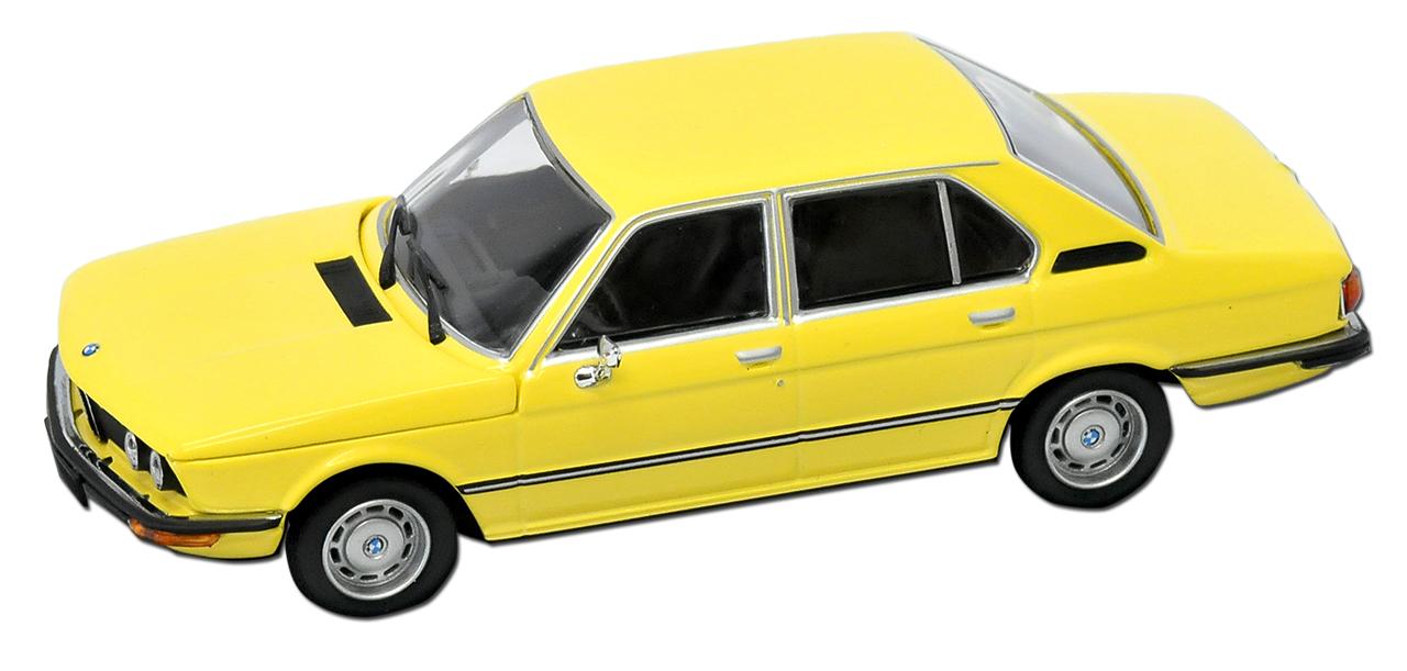Generation 1972-1981 1//43 Minichamps Maxicha.. BMW 5er E12 520 Limousine Gelb 1