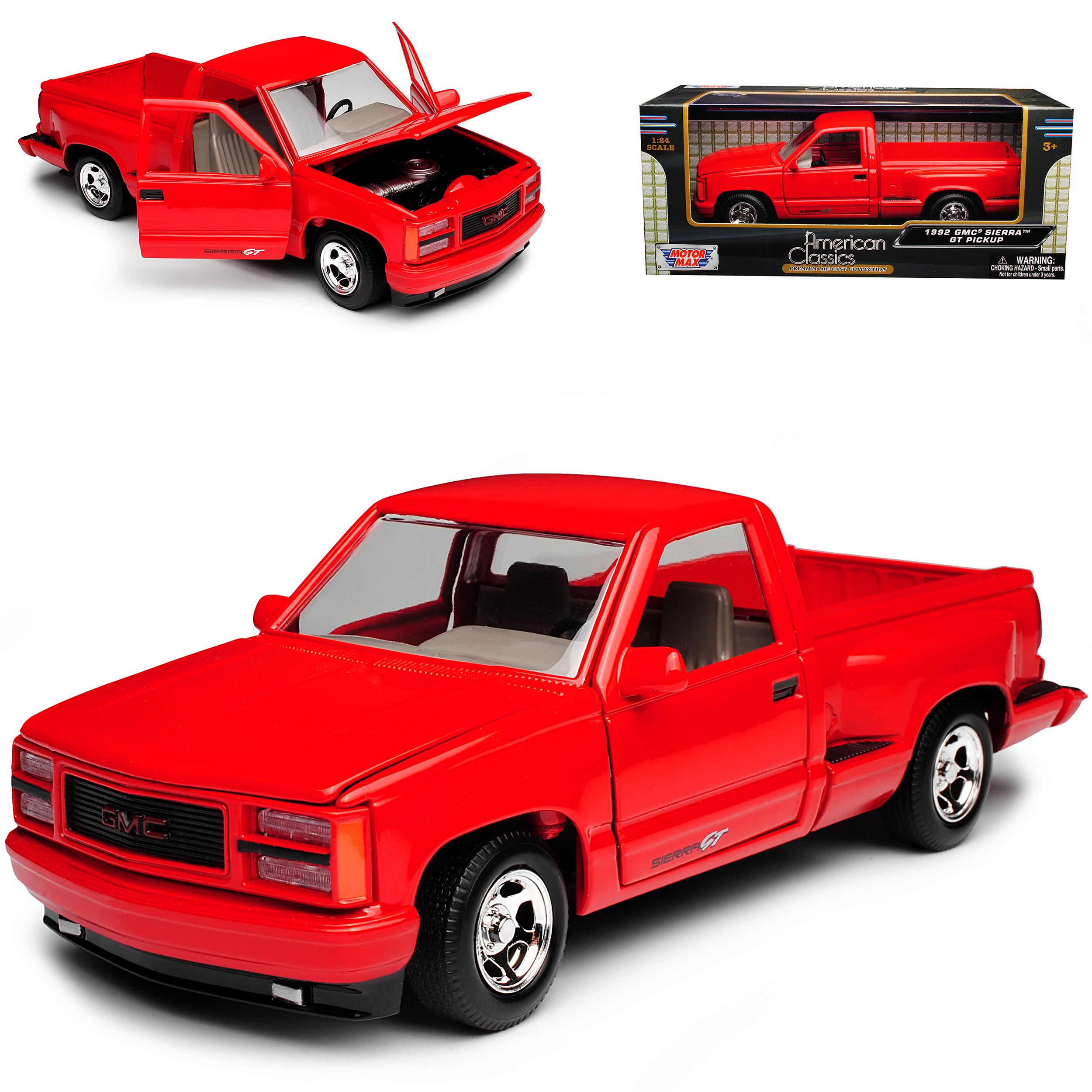 Generation Pick-Up Rot 1988.. GMC Sierra Baugleich Chevrolet Silverado GMT400 4