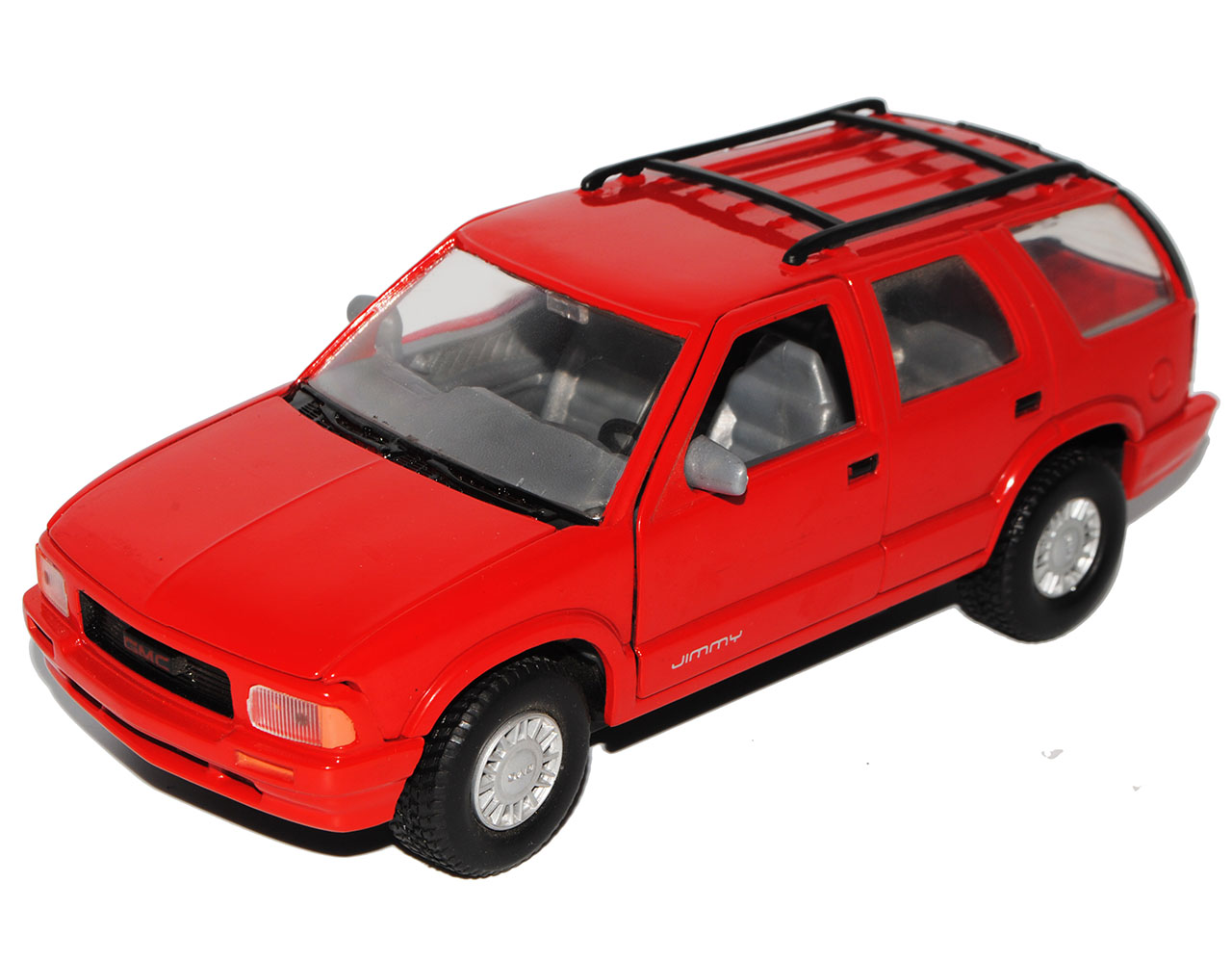 GMC Jimmy 1994 SUV Rot 1//24 Motormax Modell Auto mit oder ohne individiuellem ..