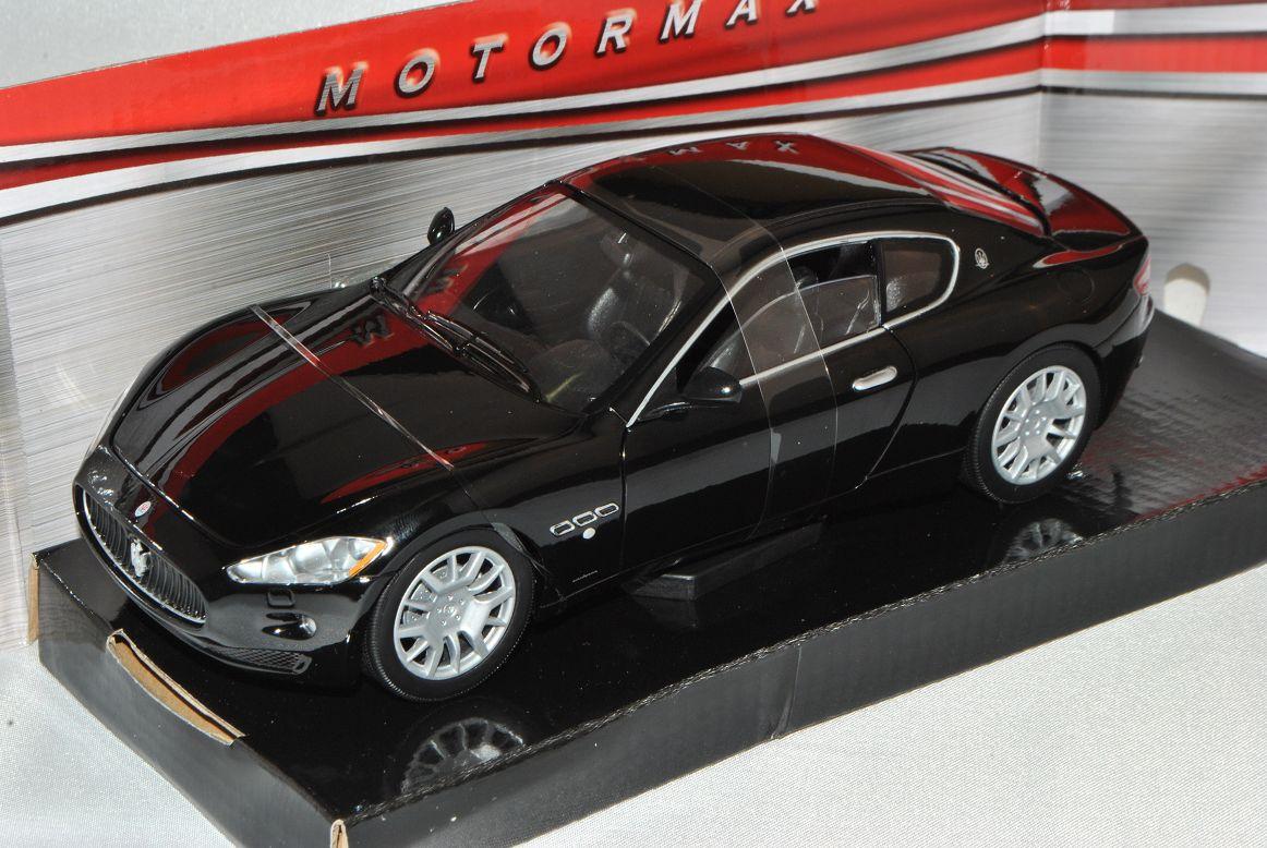 Maserati GT gran turismo coupé negro a partir de 2007 1//24 Motormax modelo coche con o..