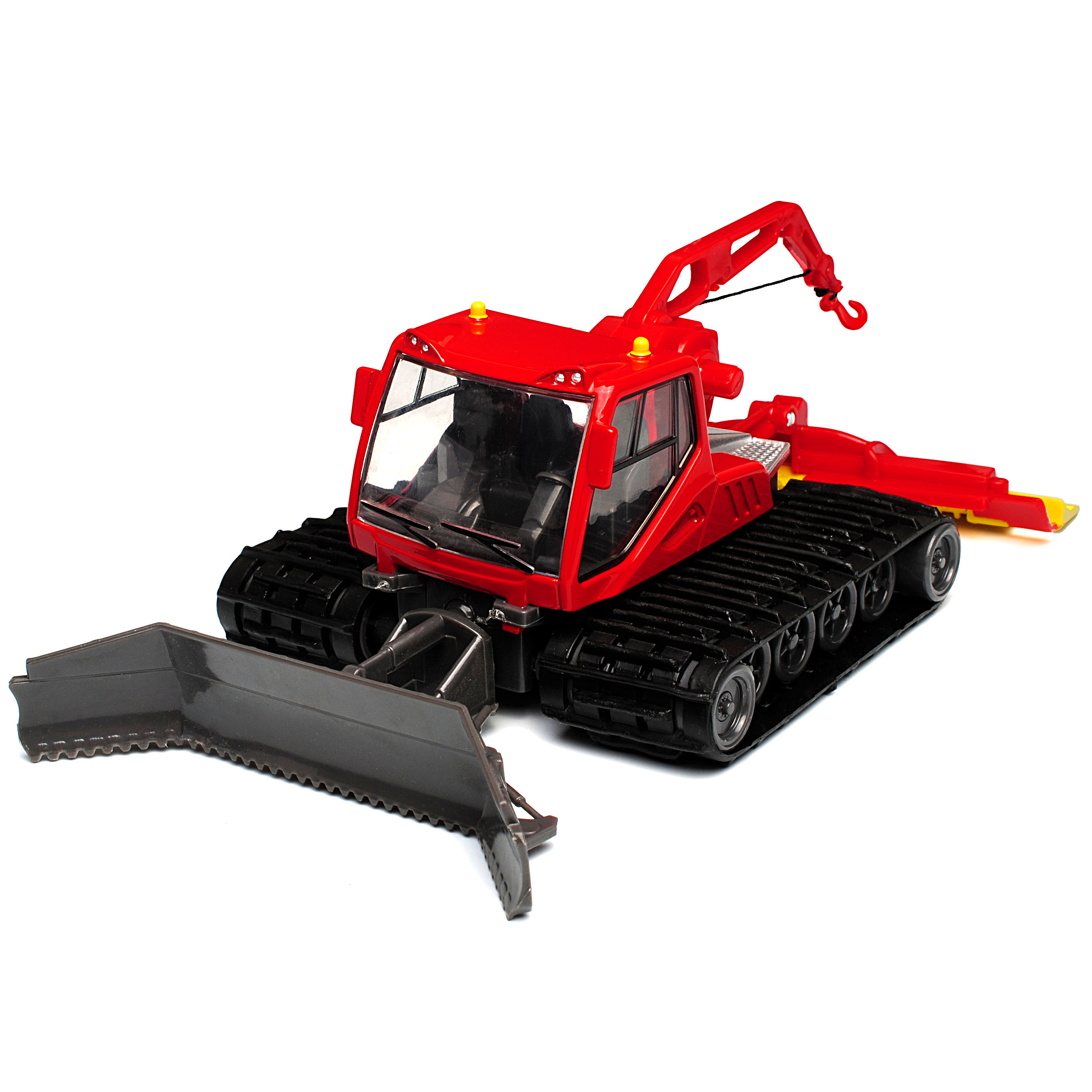 Pistenbully Raupe mit Funktionen Rot 1//50 New Ray Modell Auto mit oder ohne in..
