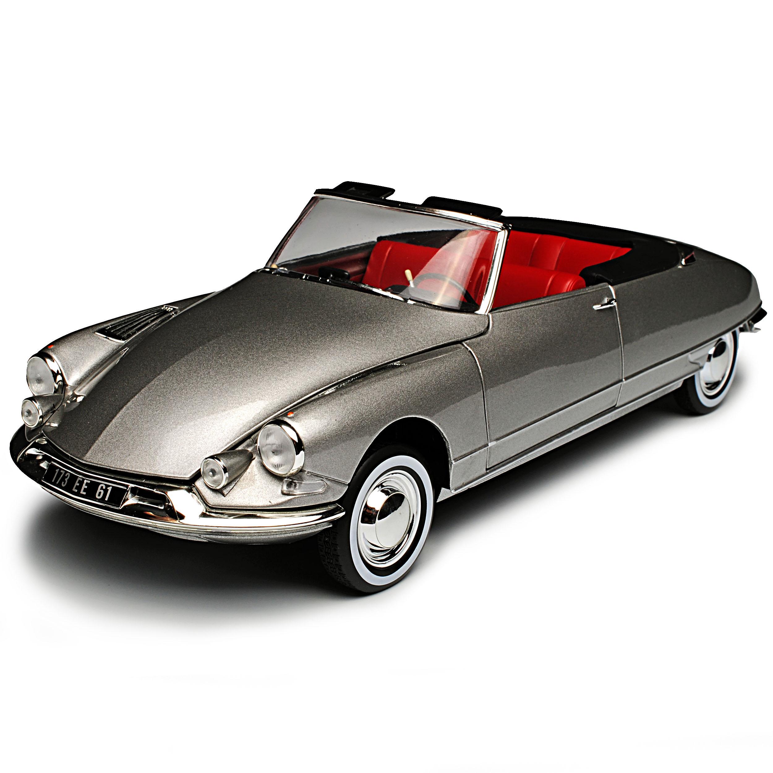 CITROEN ds19 Cabrio Grigio 1955-1968 1//18 NOREV modello auto con o senza indivi...