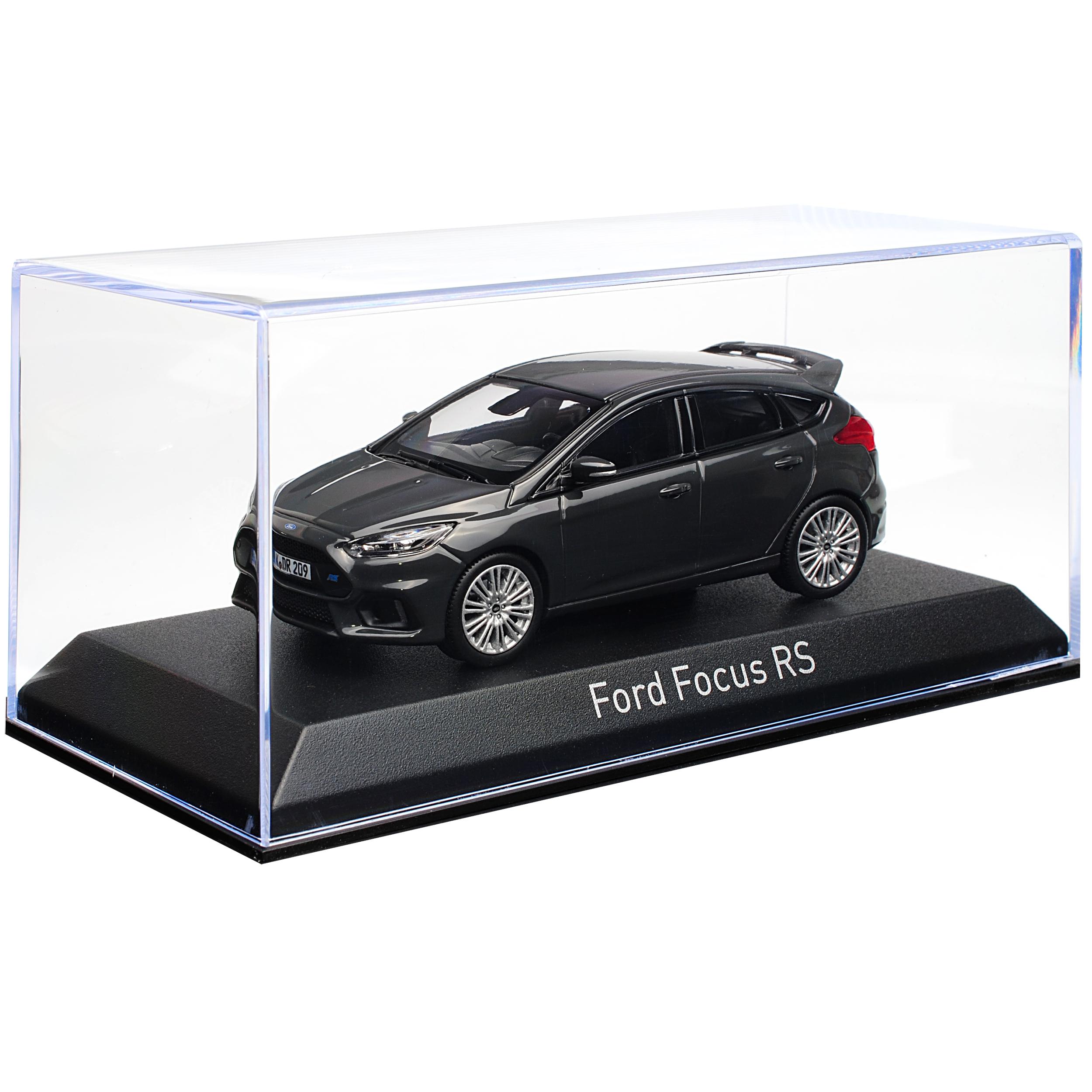 generazione a partire dal 2010 a partire da Facelift 2015 1//43... FORD FOCUS RS nero grigio 5 porte 3