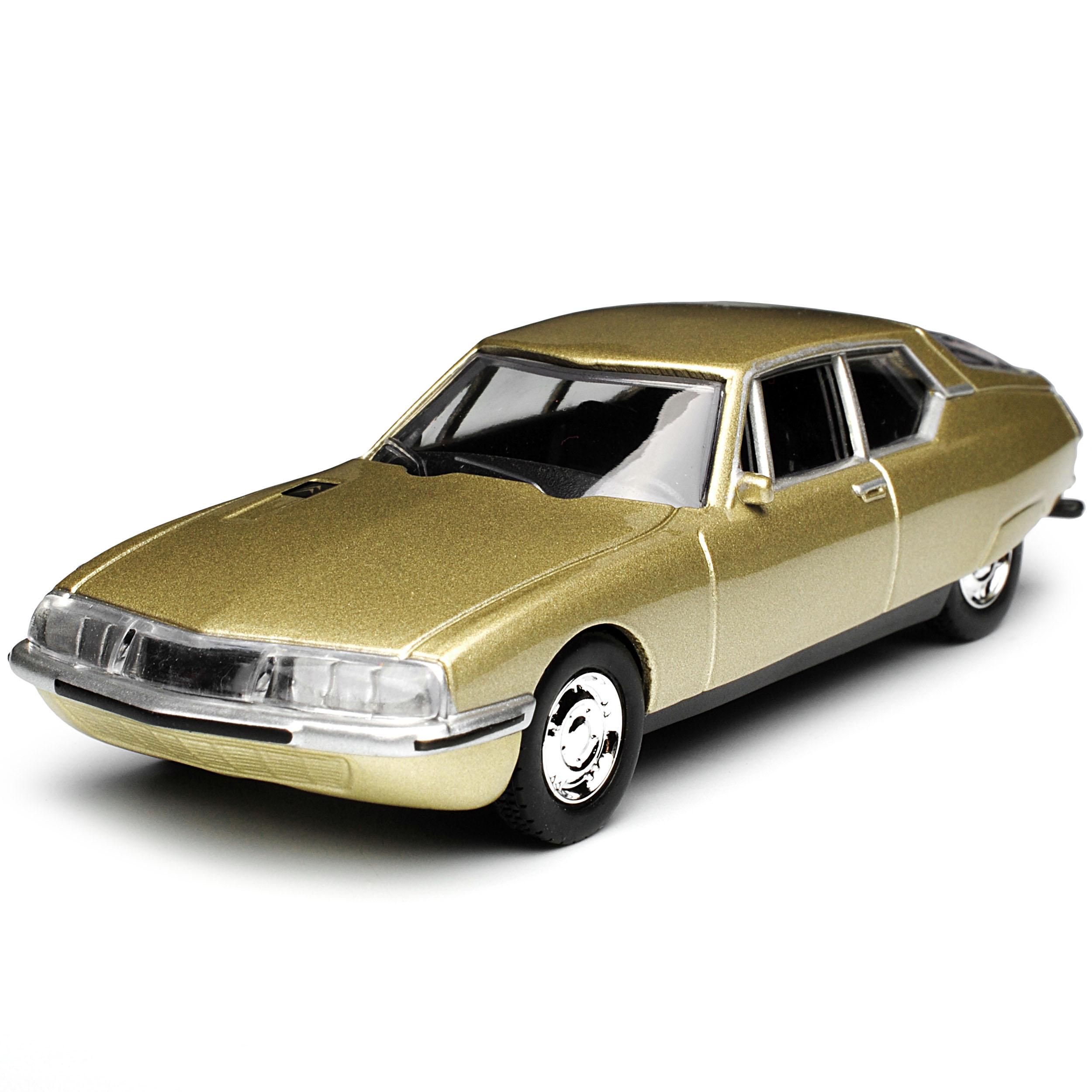 Citroen SM Gold Beige 1970-1975 1//64 Norev Modell Auto mit oder ohne individiu..
