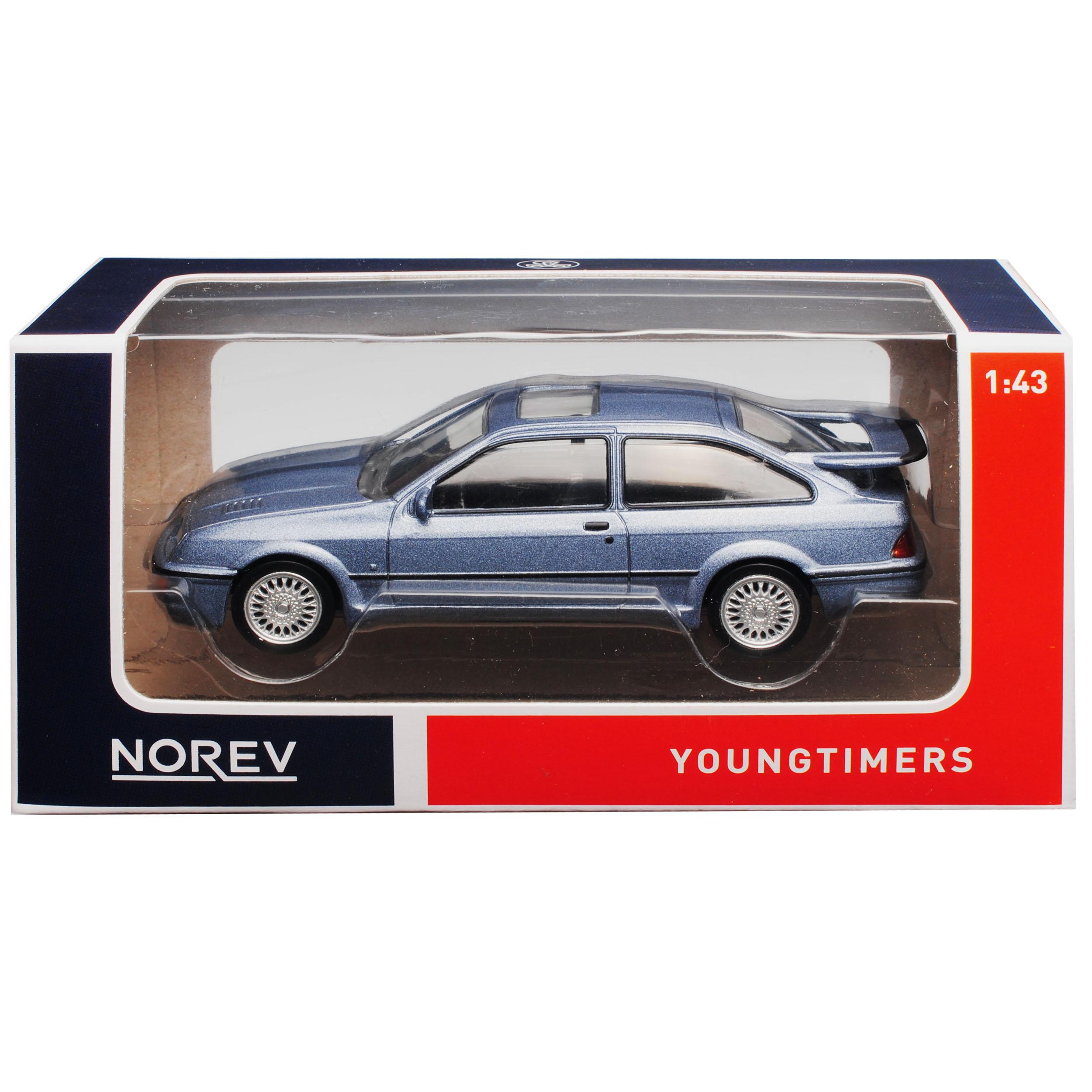 Ford Sierra RS Cosworth Coupe gris 1982-1993 1//43 norev modelo coche con o o..
