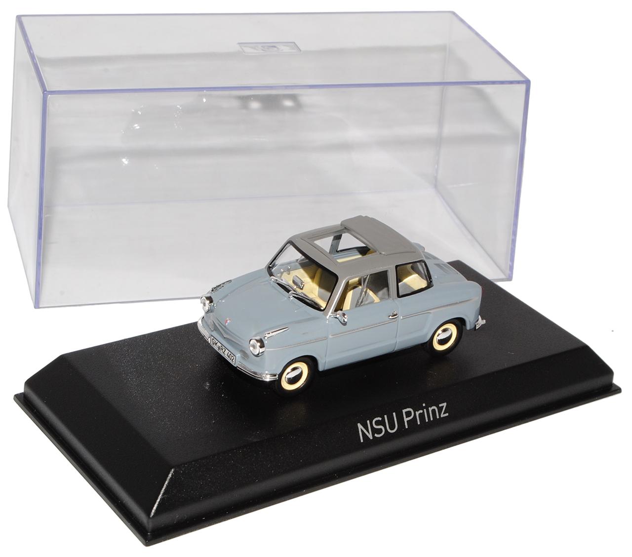 NSU Prinz II gris Norev 1//43 modelismo coches con o sin individiuellem Wunschke...