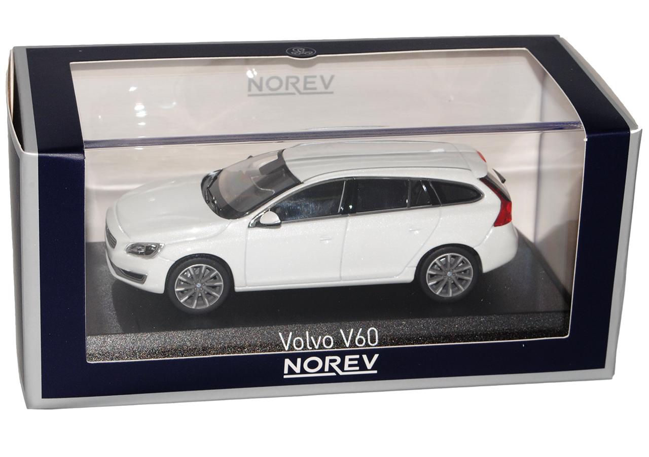 Volvo V60 wagon cristal blanco de cirugía estética 2013 1 43 Norev modelos coches con Oda...